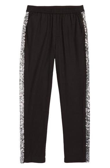 1a1871411268 Mini Boden Sparkle Twill Trousers (Little Girls   Big Girls)