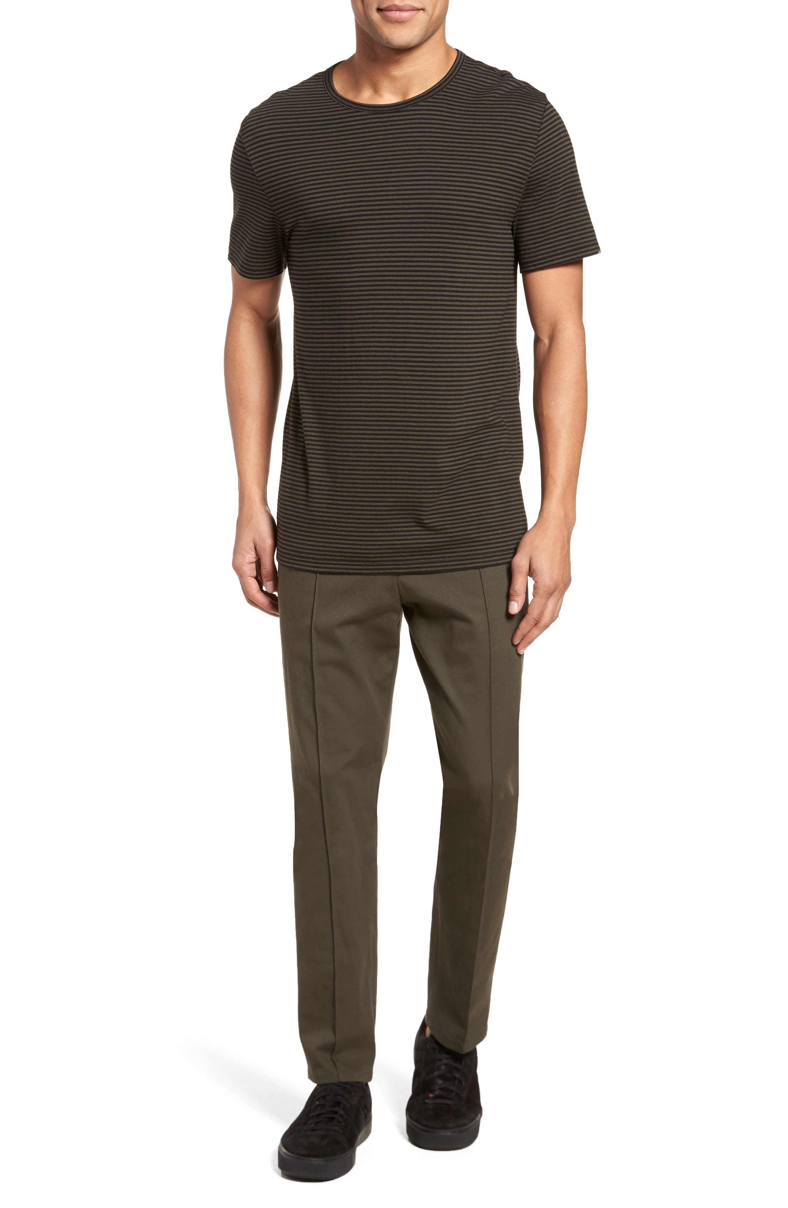 Feeder Stripe Long Sleeve Shirt,                             Alternate thumbnail 14, color,