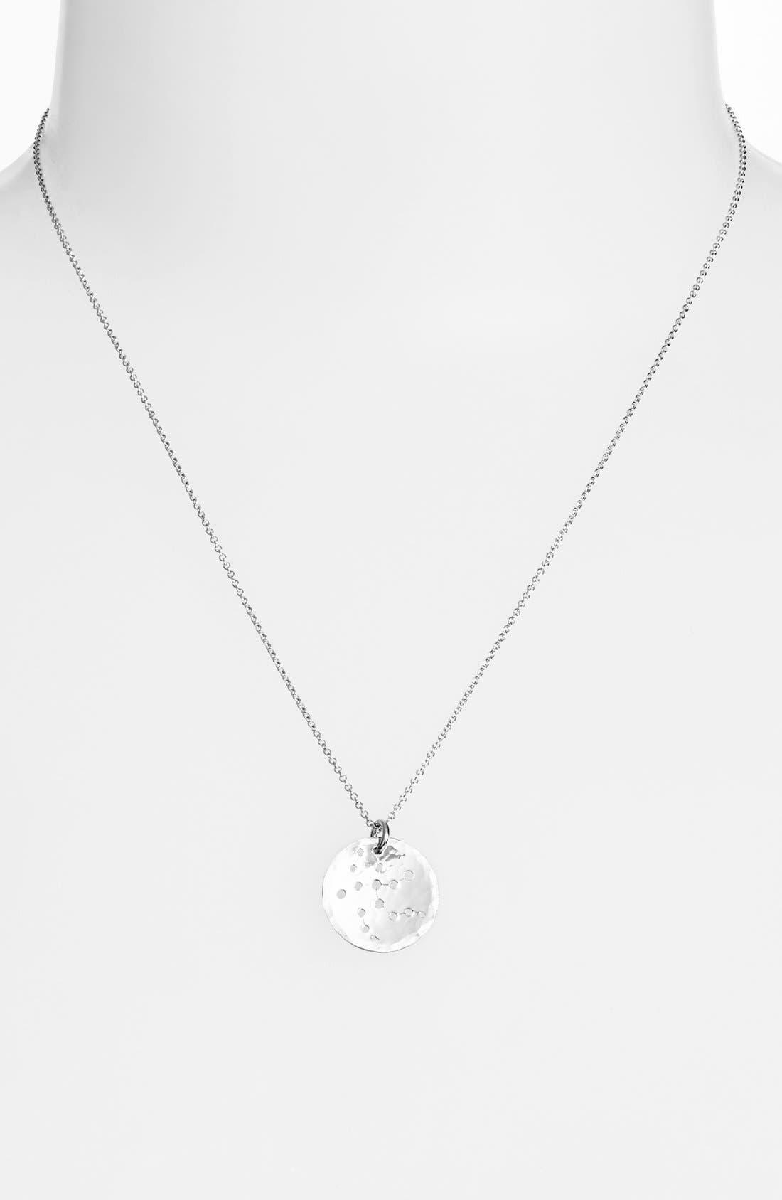 Ija 'Small Zodiac' Sterling Silver Necklace,                             Main thumbnail 6, color,