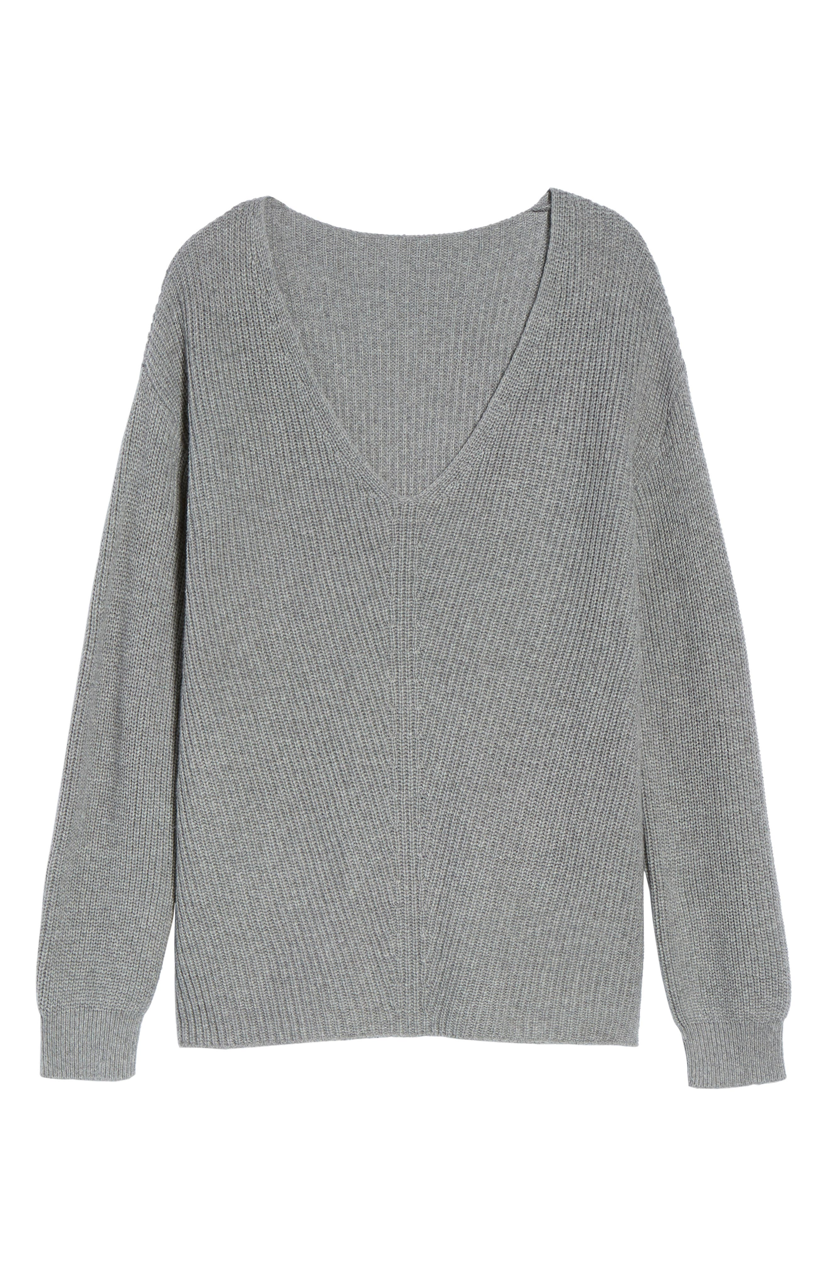 V-Neck Sweater,                             Alternate thumbnail 37, color,
