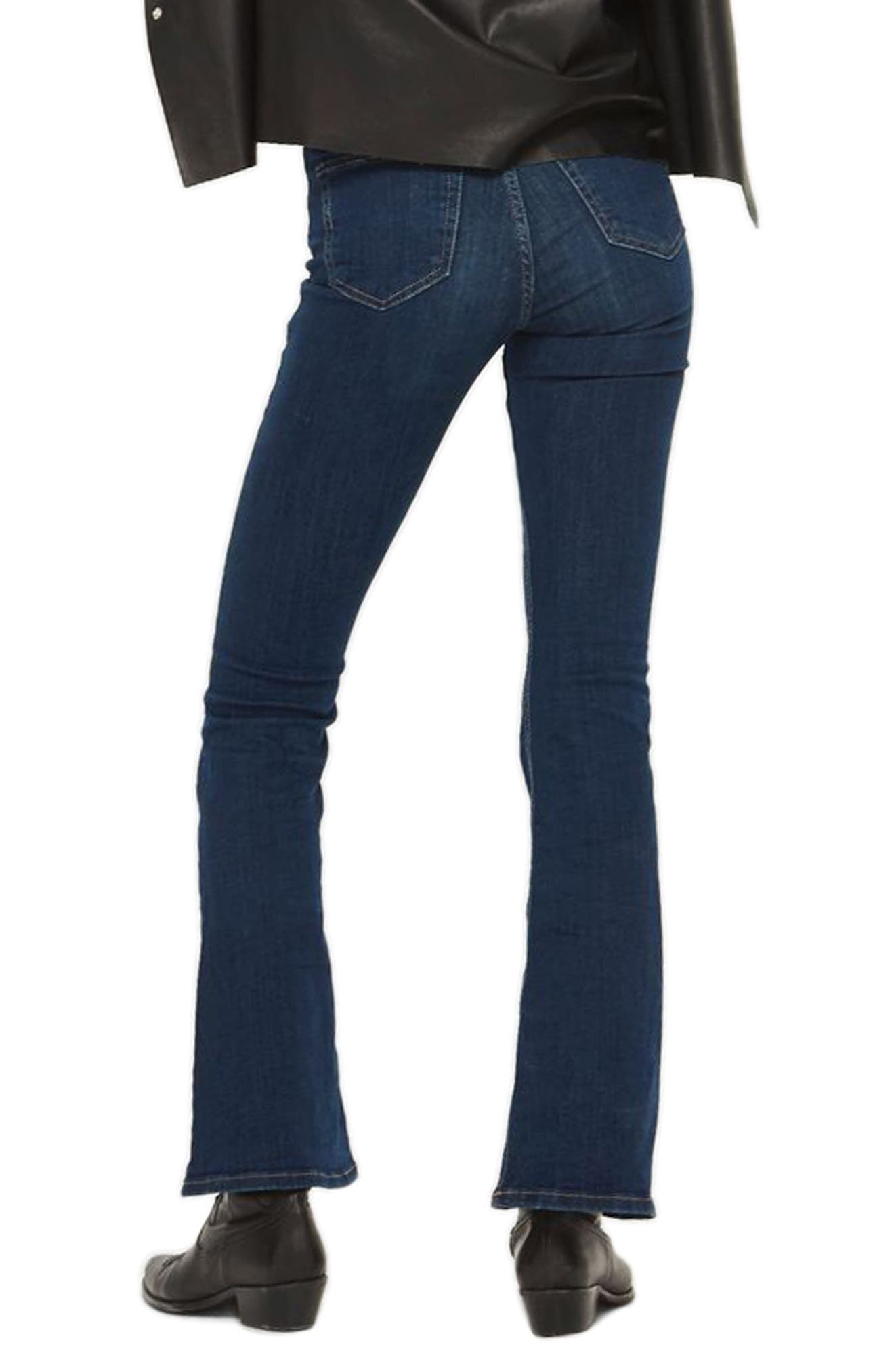 Jamie Flare Jeans,                             Alternate thumbnail 4, color,