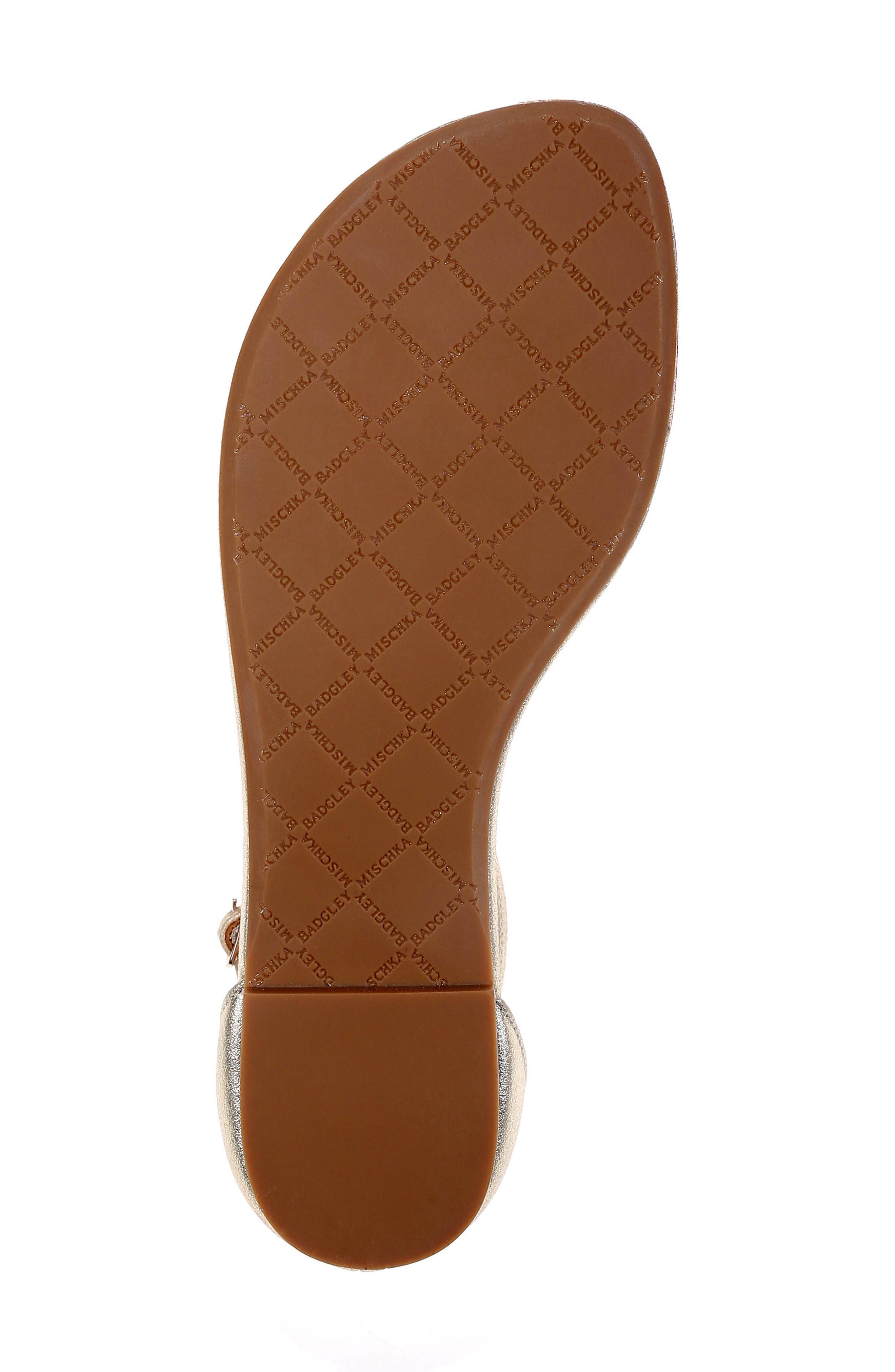 Holbrook T-Strap Sandal,                             Alternate thumbnail 5, color,                             PLATINO METALLIC SUEDE