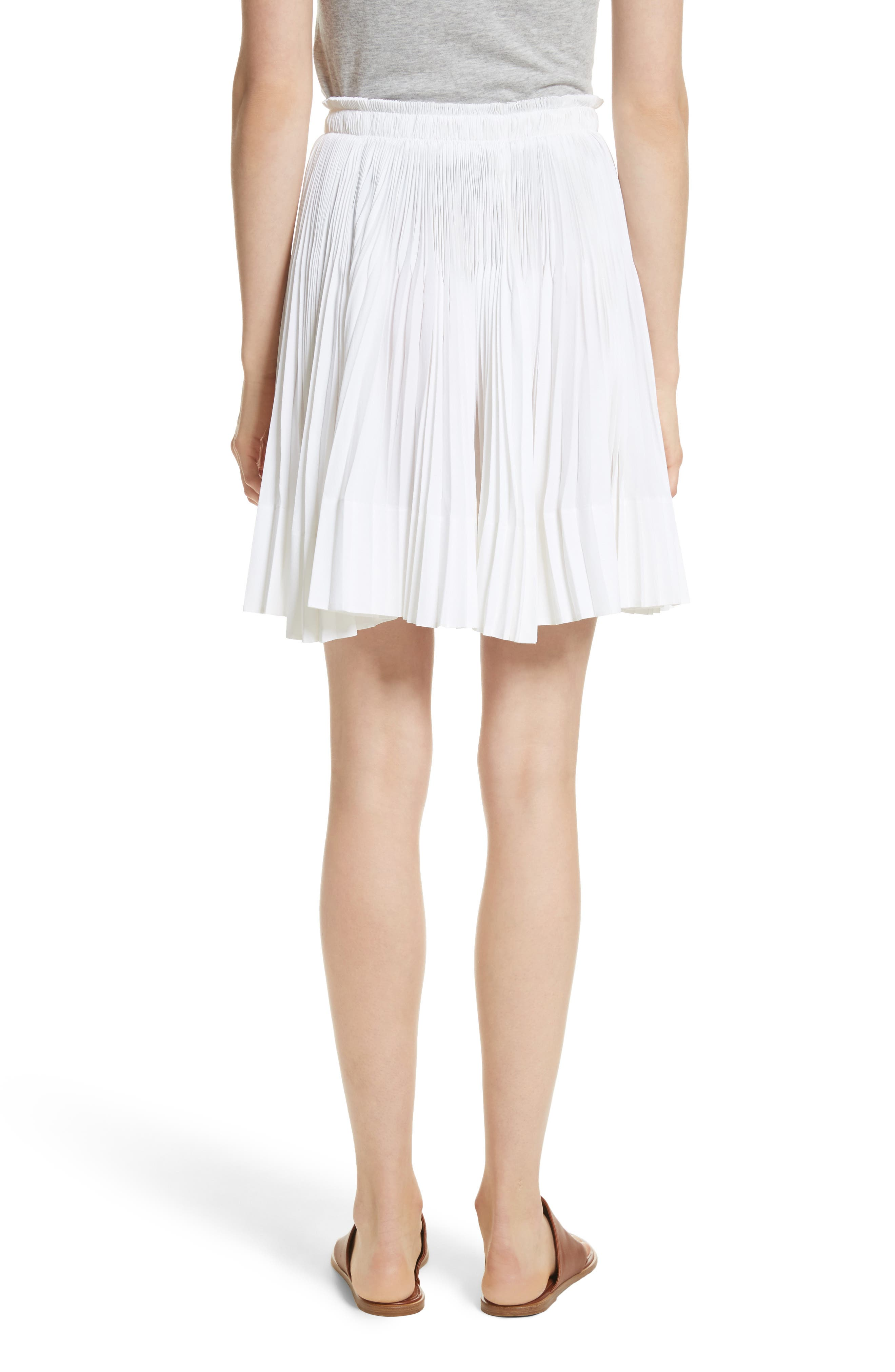 VINCE,                             Multi Pleat Skirt,                             Alternate thumbnail 2, color,                             137
