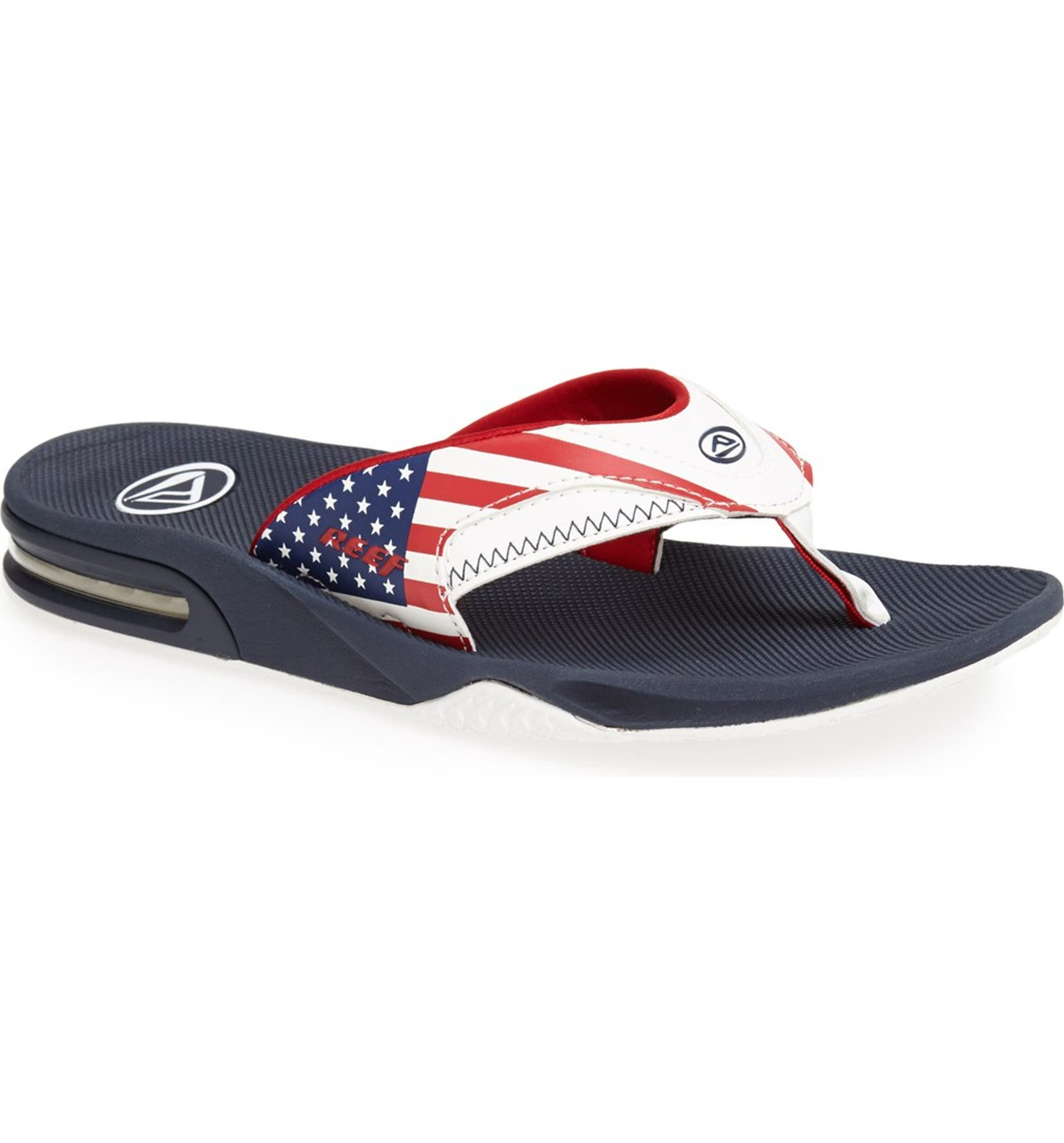 b916d368b07f Reef American Flag Flip Flops - About Flag Collections