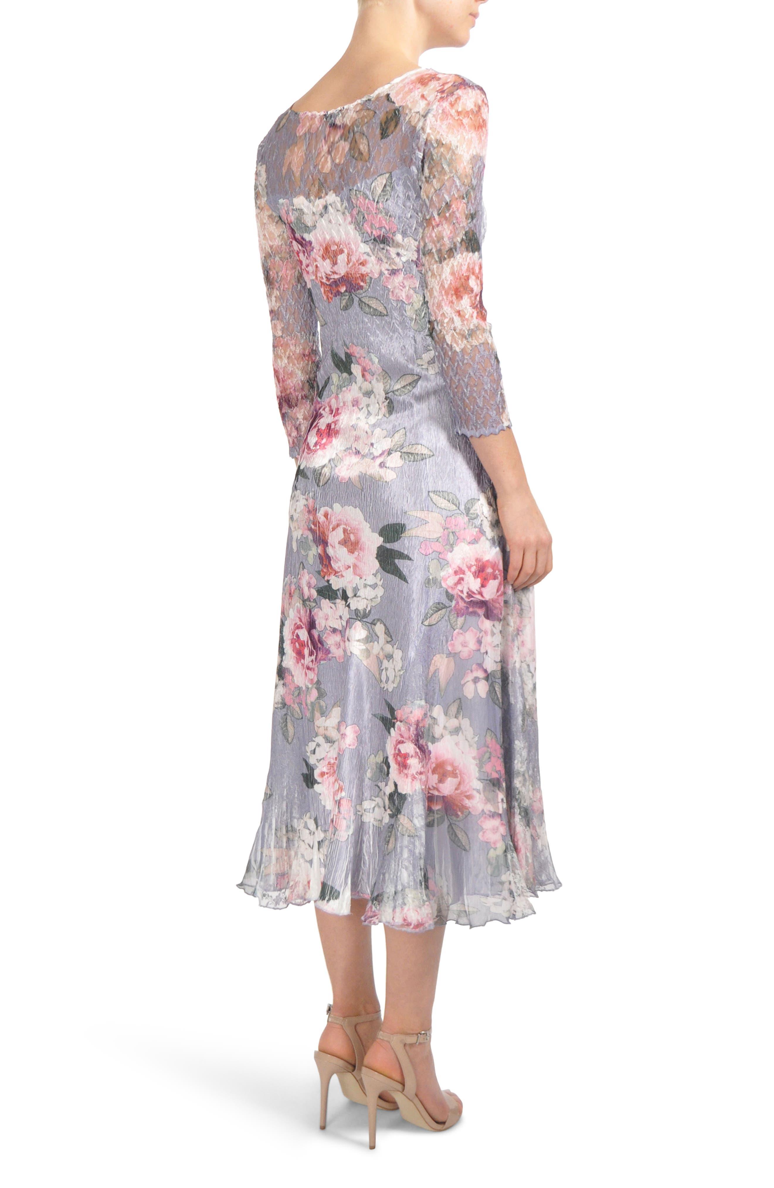 Charmeuse Midi Dress,                             Alternate thumbnail 2, color,                             WISTERIA LANE