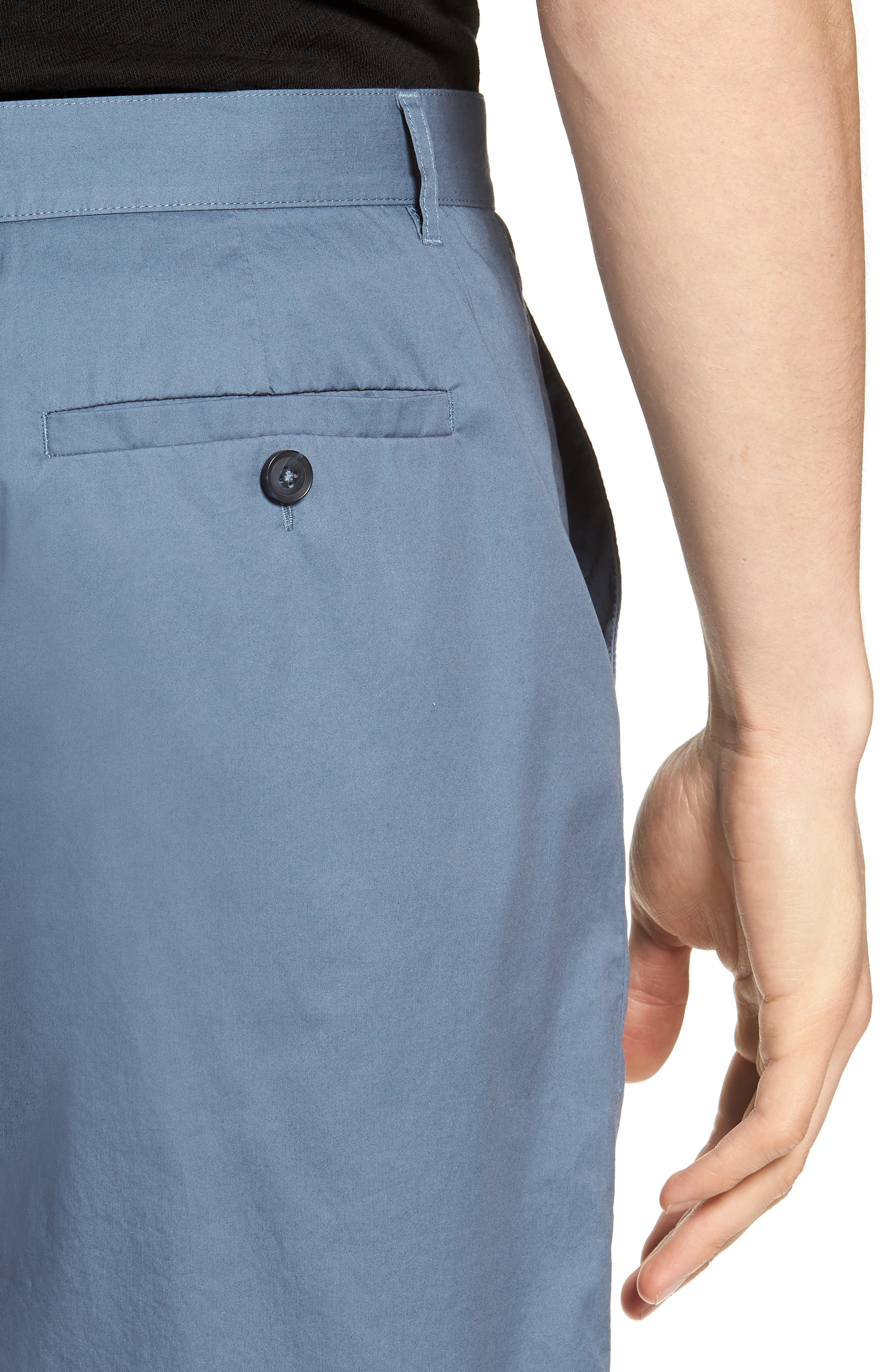 Poplin Cotton Shorts,                             Alternate thumbnail 4, color,                             425