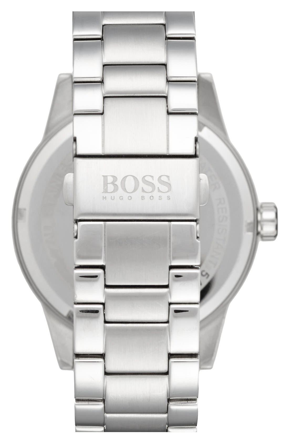 BOSS 'Pilot' Watch, 44mm,                             Alternate thumbnail 2, color,                             040
