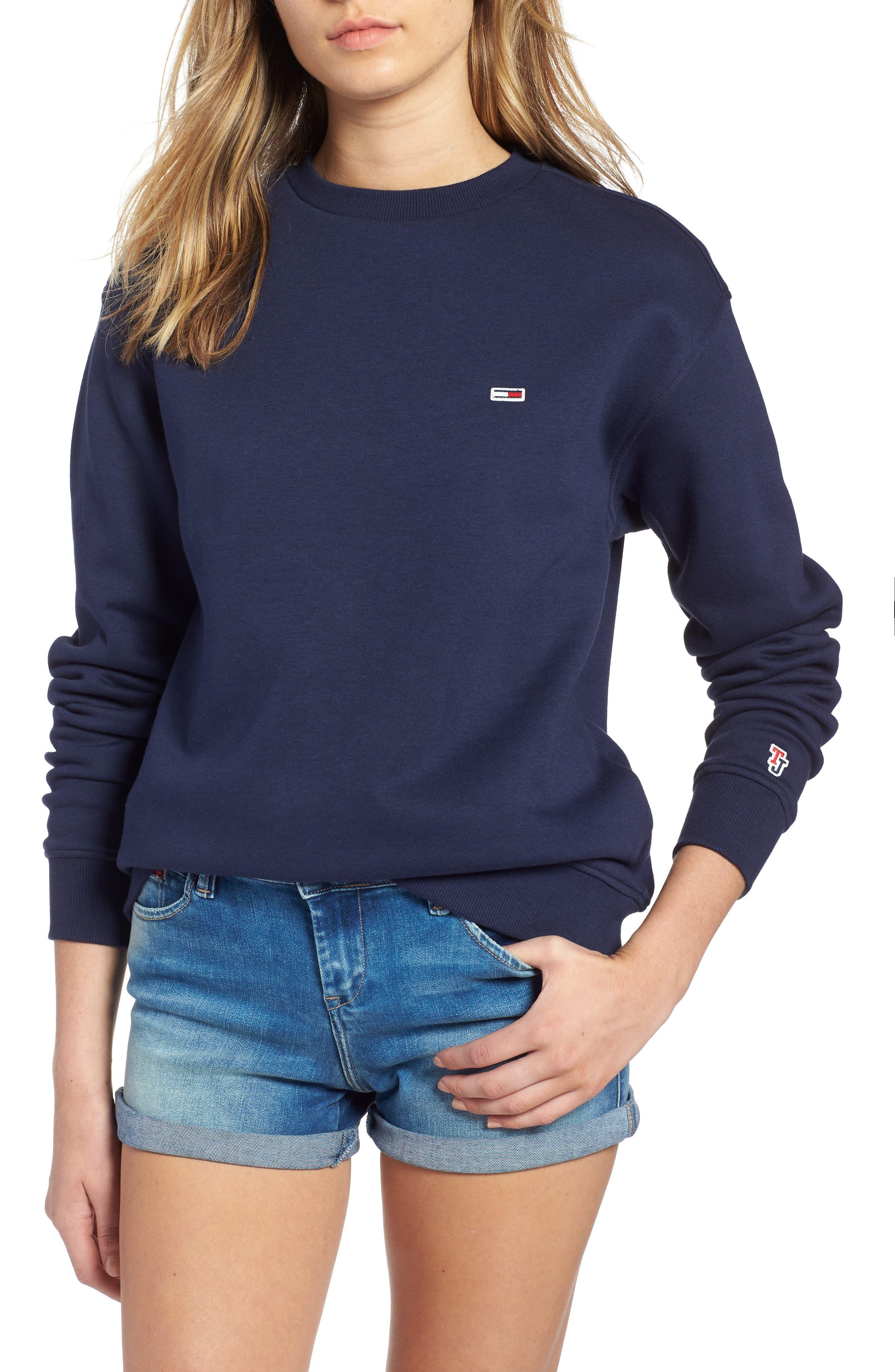 TJW Tommy Classics Sweatshirt,                             Main thumbnail 1, color,                             002