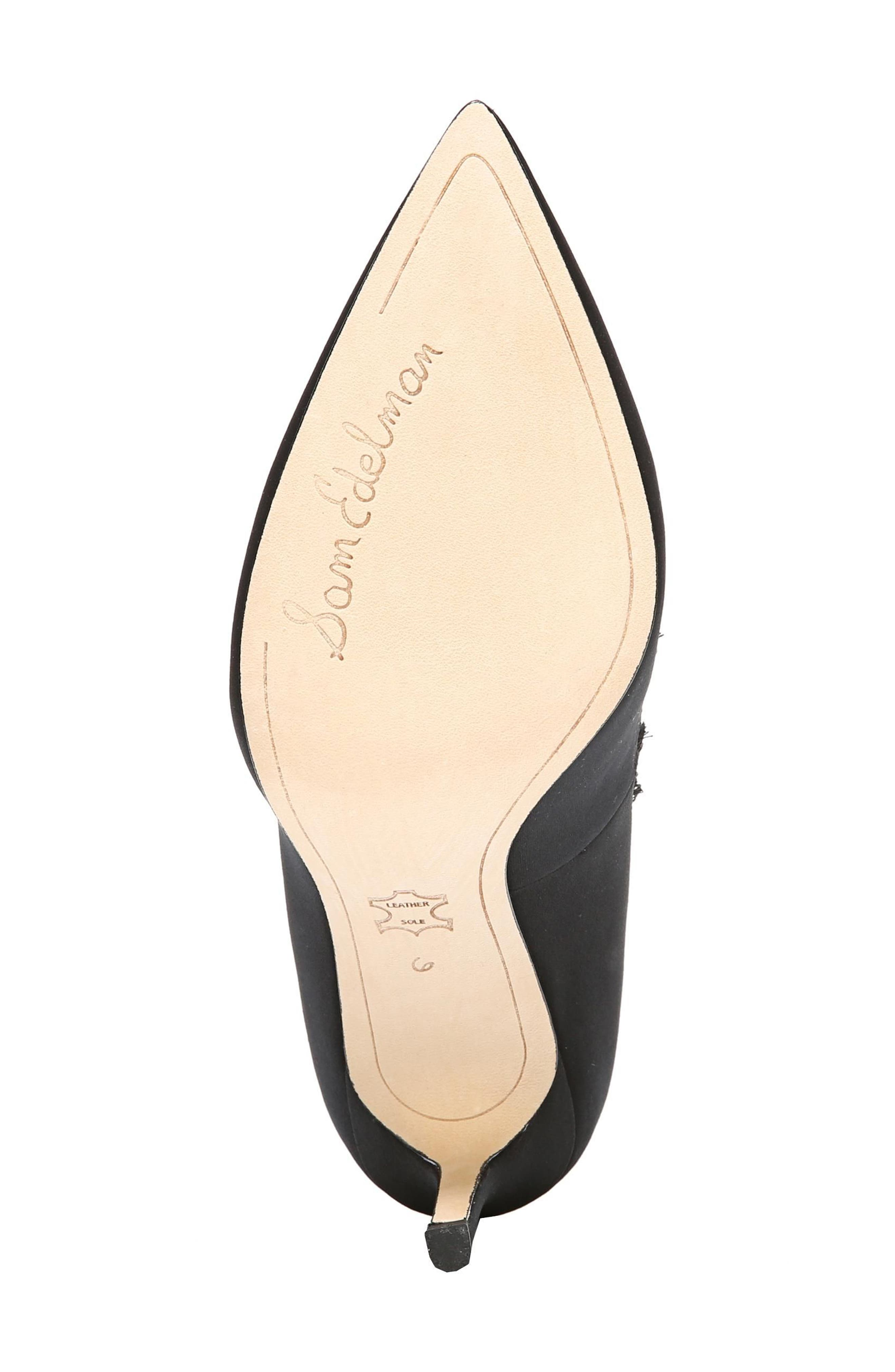 Halan Pointy Toe Pump,                             Alternate thumbnail 6, color,                             001