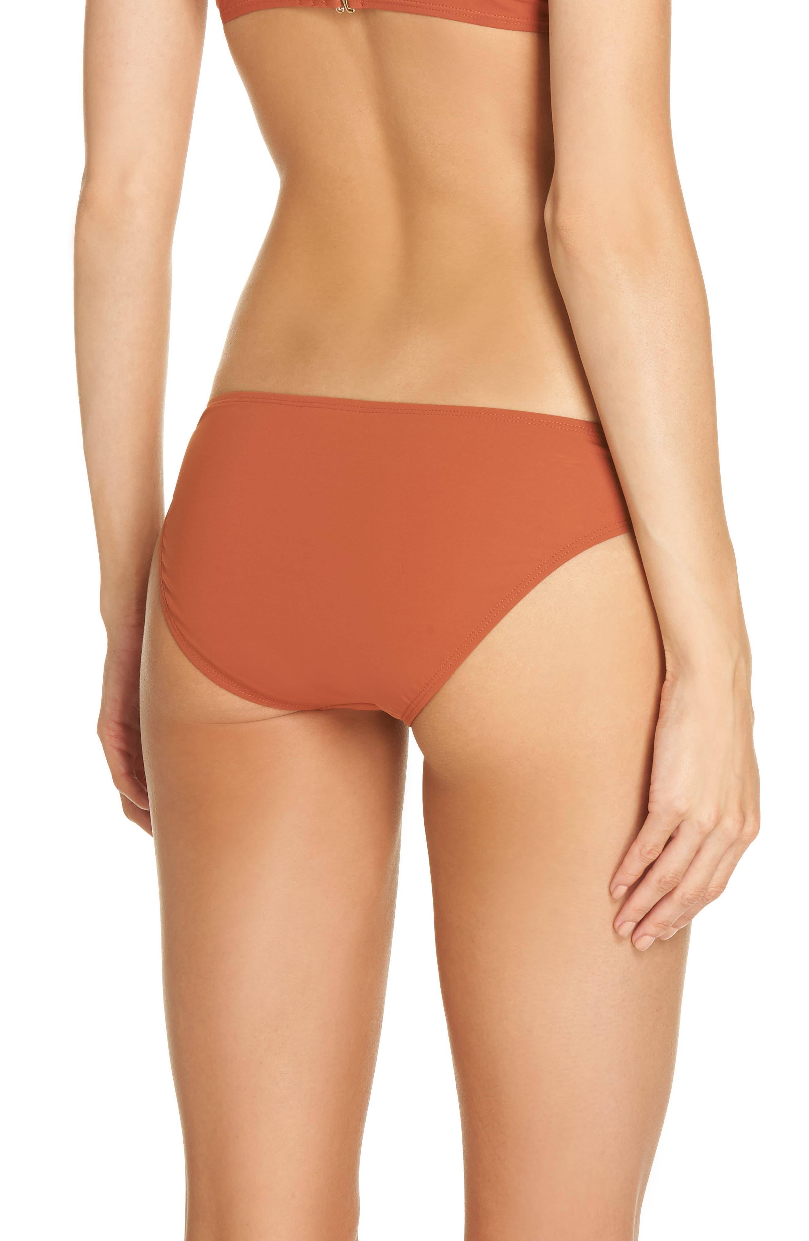 Palma Hipster Bikini Bottoms,                             Alternate thumbnail 2, color,                             DESERT SPICE