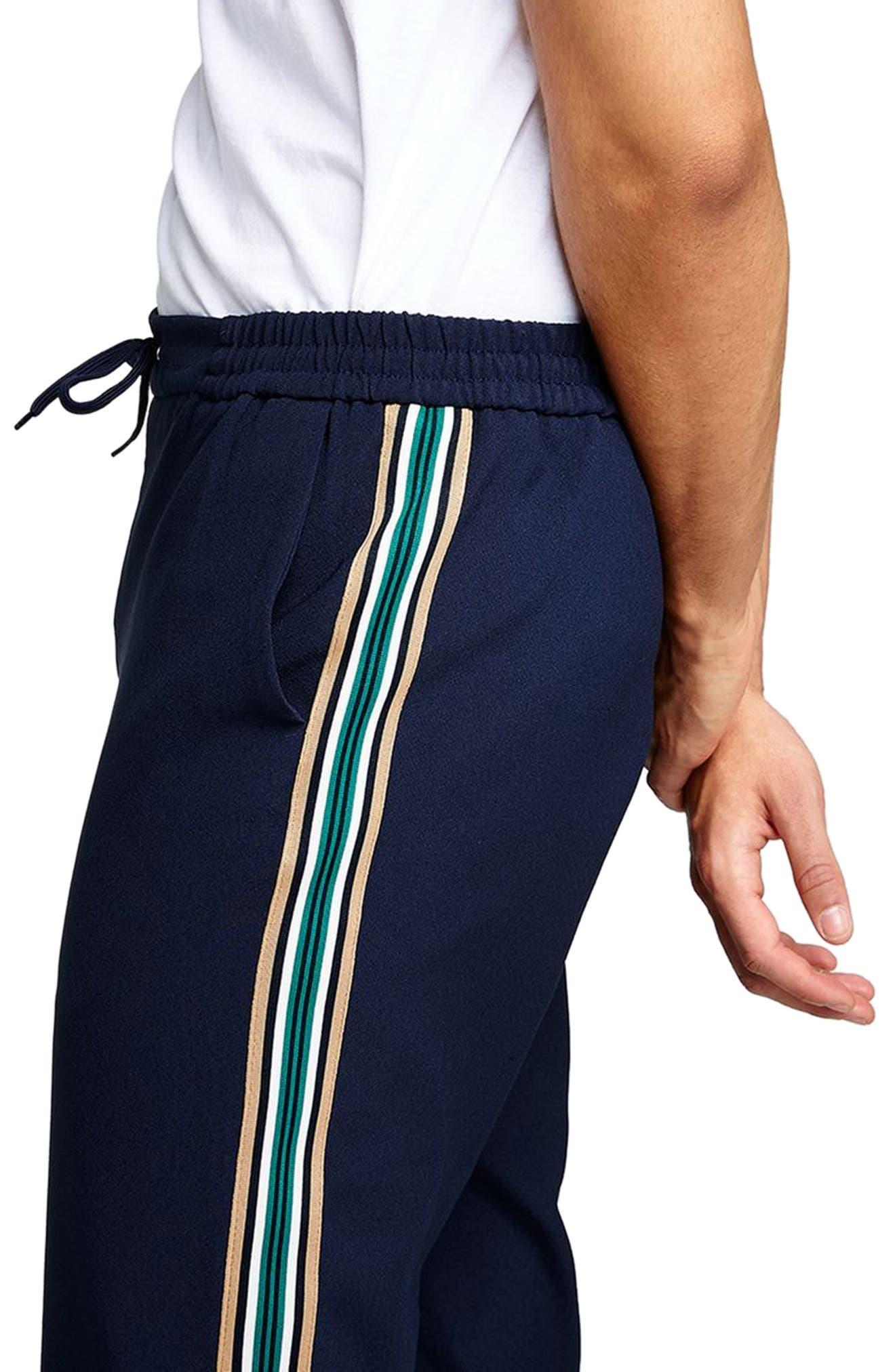 Cropped Slim Fit Jogger Pants,                             Alternate thumbnail 3, color,                             401