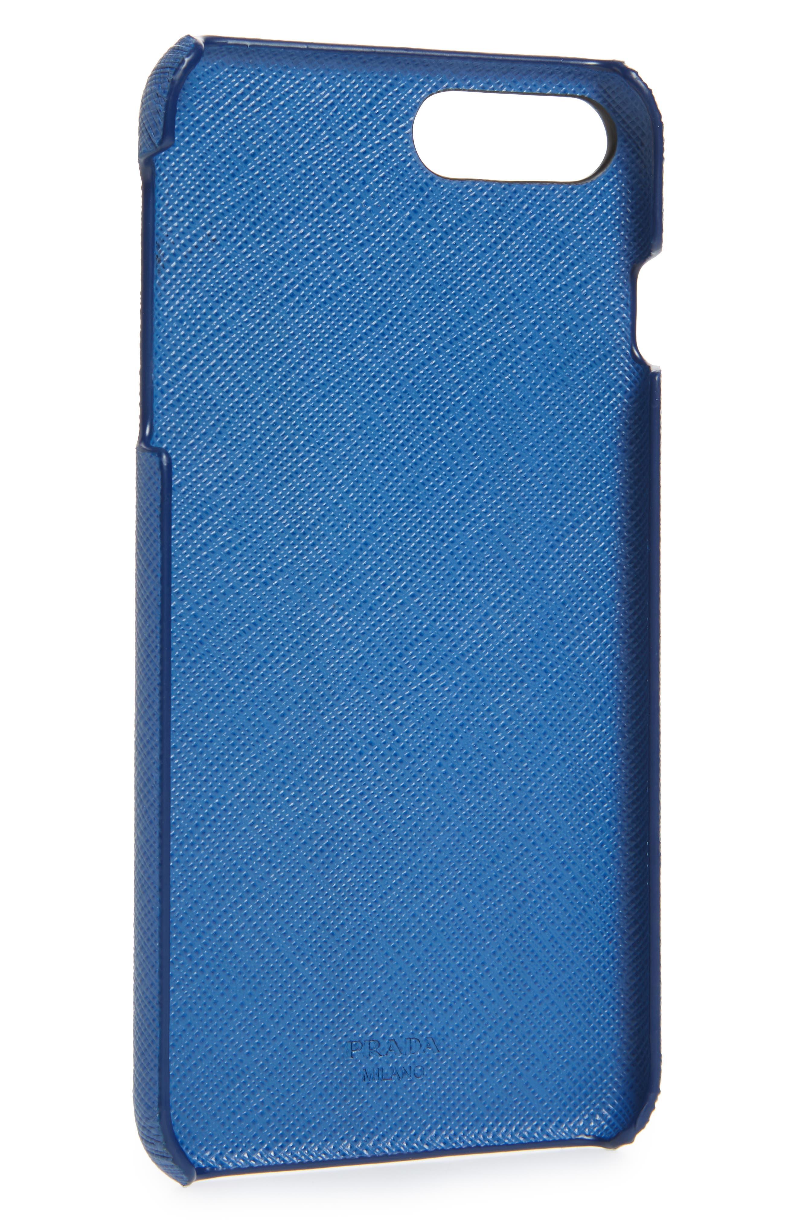 Saffiano Metal Oro iPhone 7/8 Plus Case,                             Alternate thumbnail 9, color,