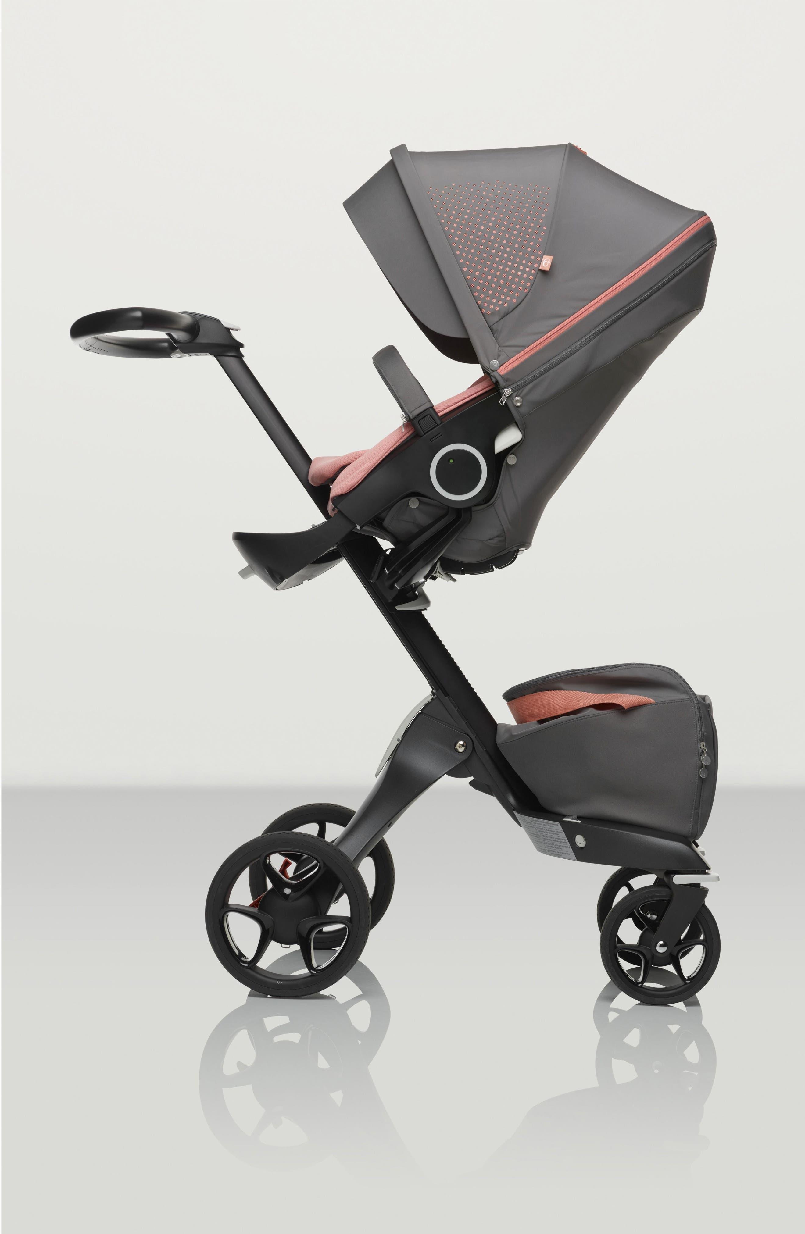 Xplory<sup>®</sup> V5 Black Athleisure Stroller,                             Alternate thumbnail 6, color,                             080