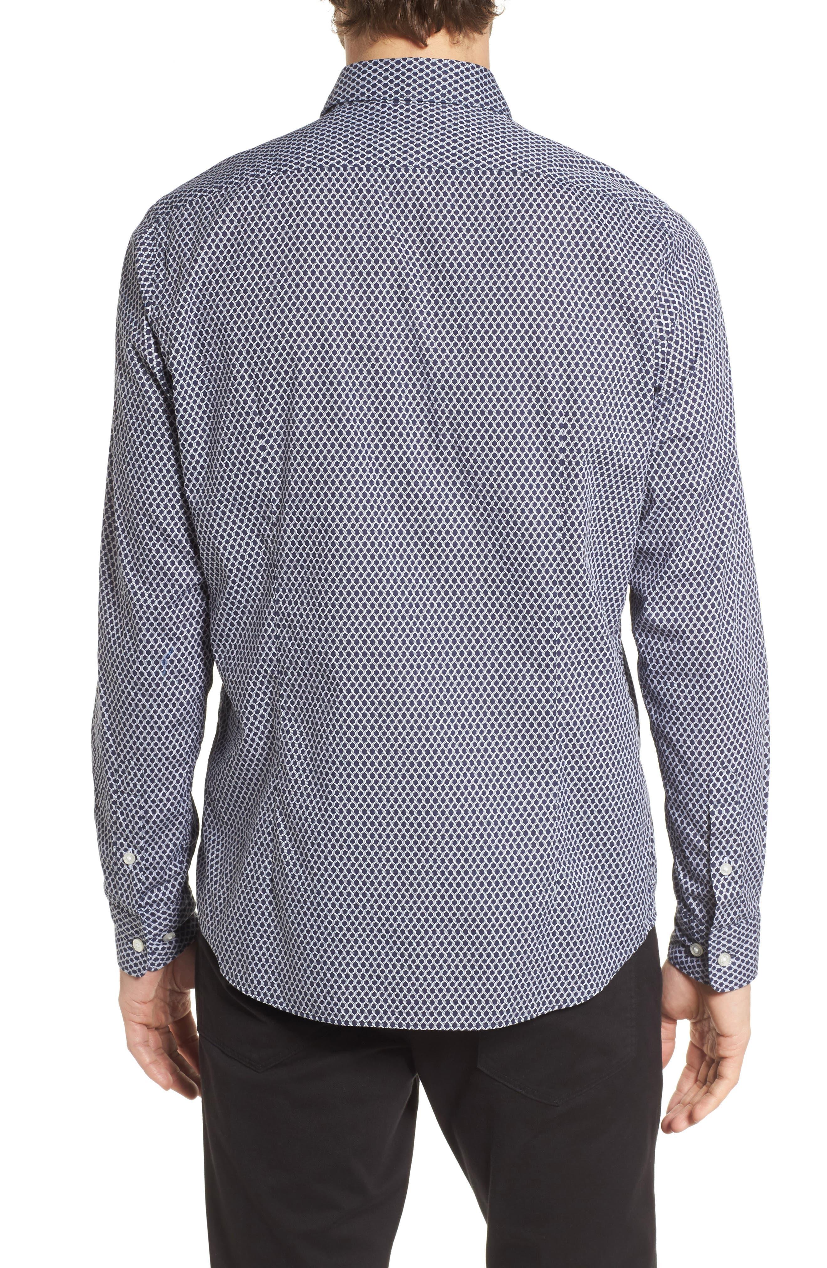Lukas Regular Fit Print Sport Shirt,                             Alternate thumbnail 2, color,                             410