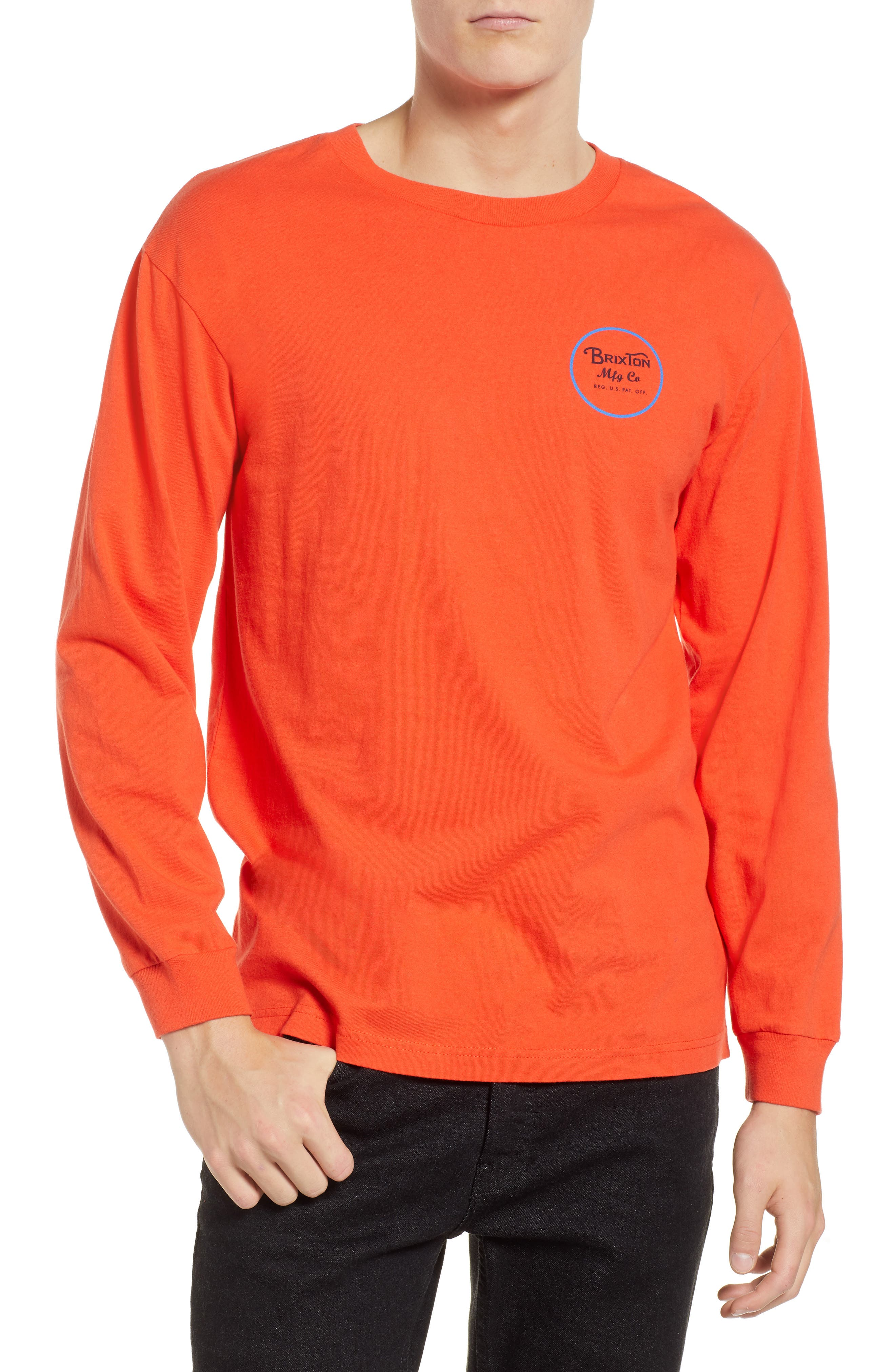 Wheeler II T-Shirt,                         Main,                         color, ORANGE