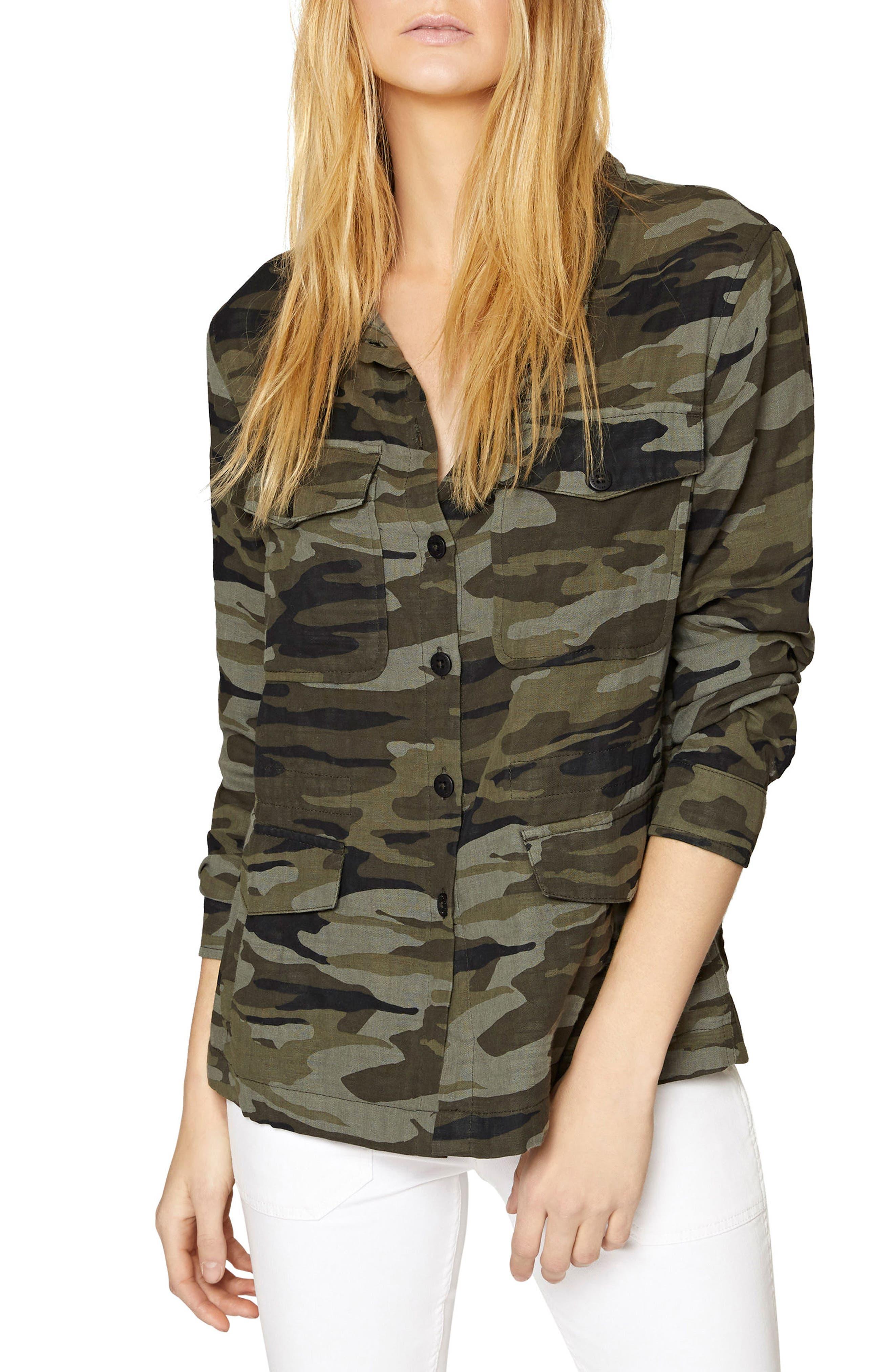 Peace Keeper Camo Jacket,                         Main,                         color,
