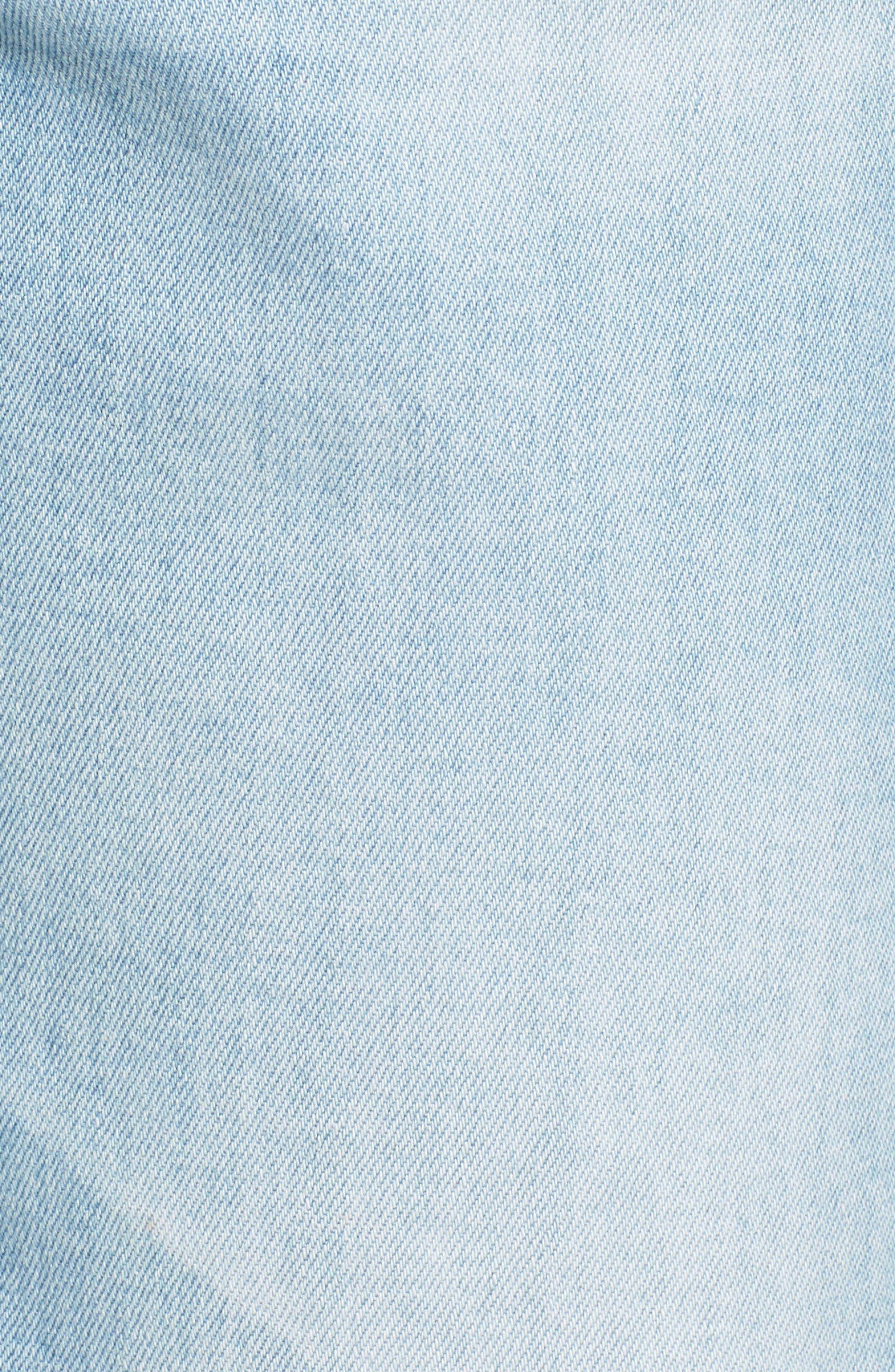 The Ex-Boyfriend Crop Slim Jeans,                             Alternate thumbnail 6, color,                             426