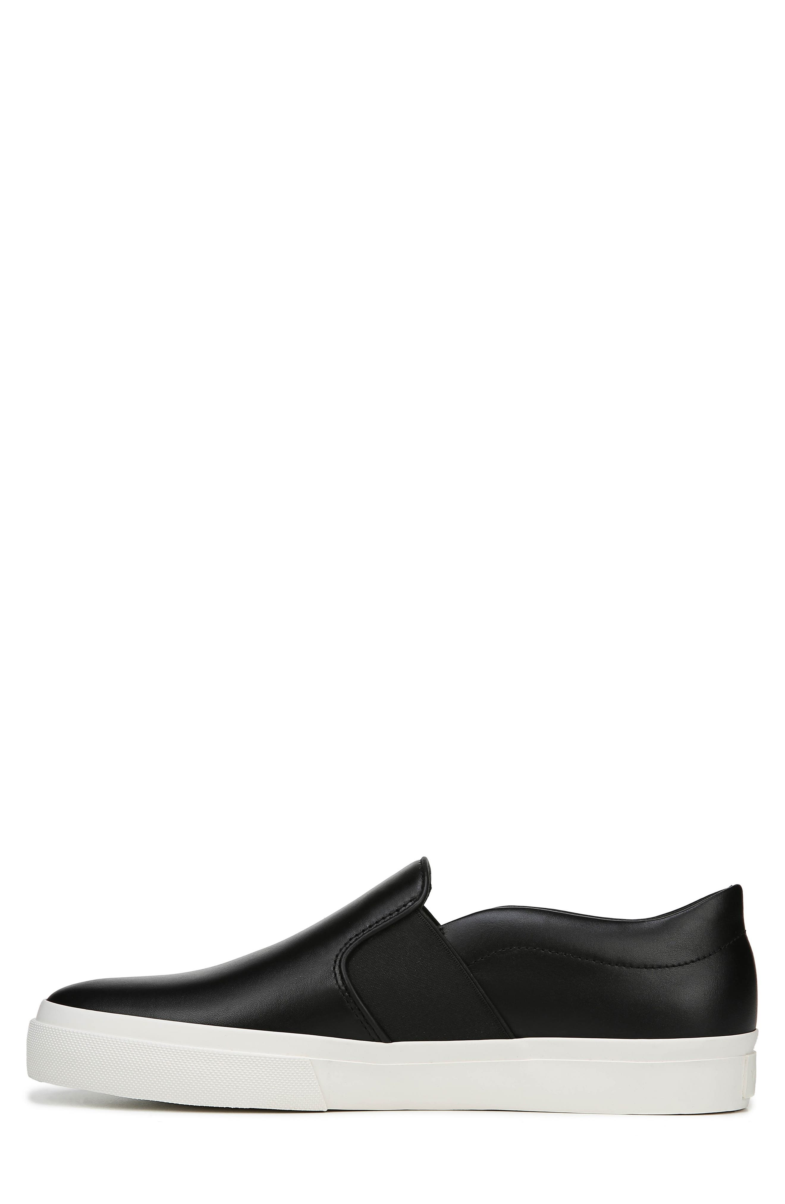 Fenton Slip-On  Sneaker,                             Alternate thumbnail 8, color,                             BLACK/ BLACK