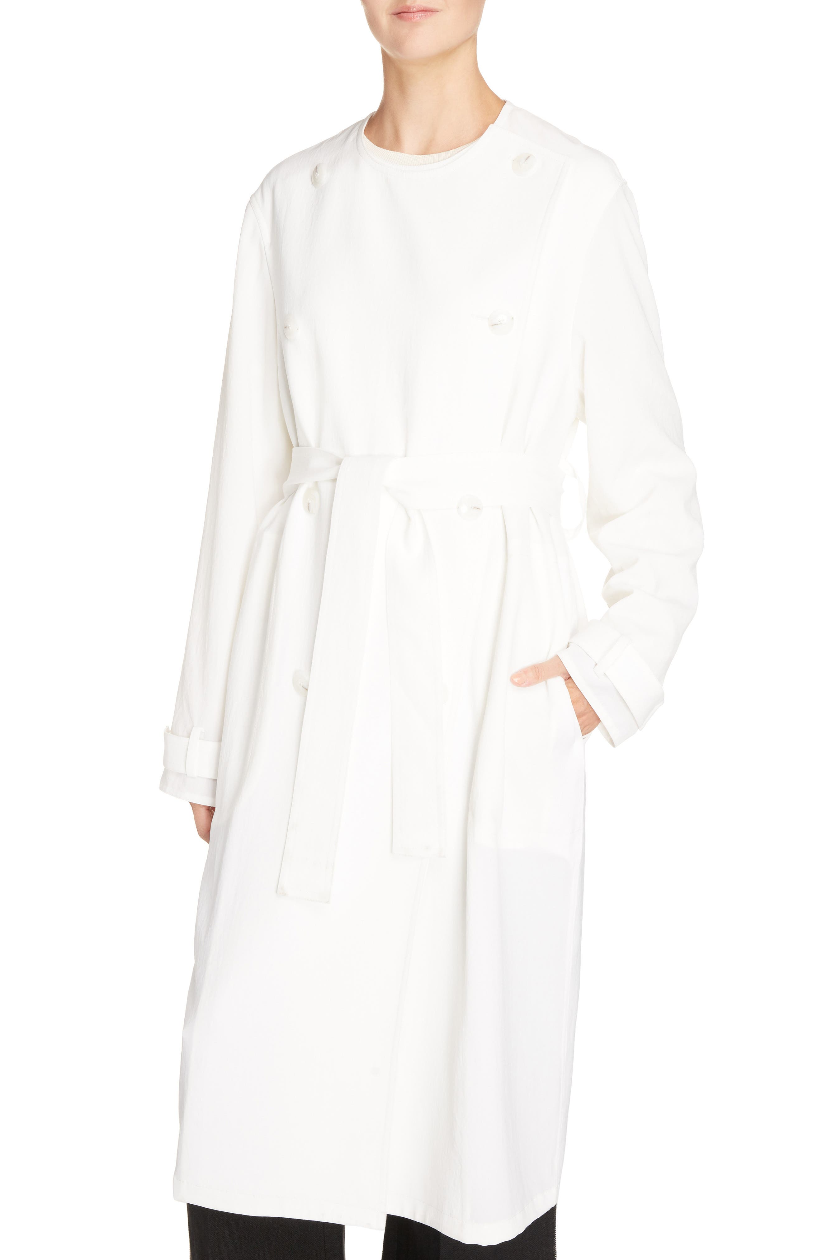 Angelica Twill Coat,                             Alternate thumbnail 4, color,
