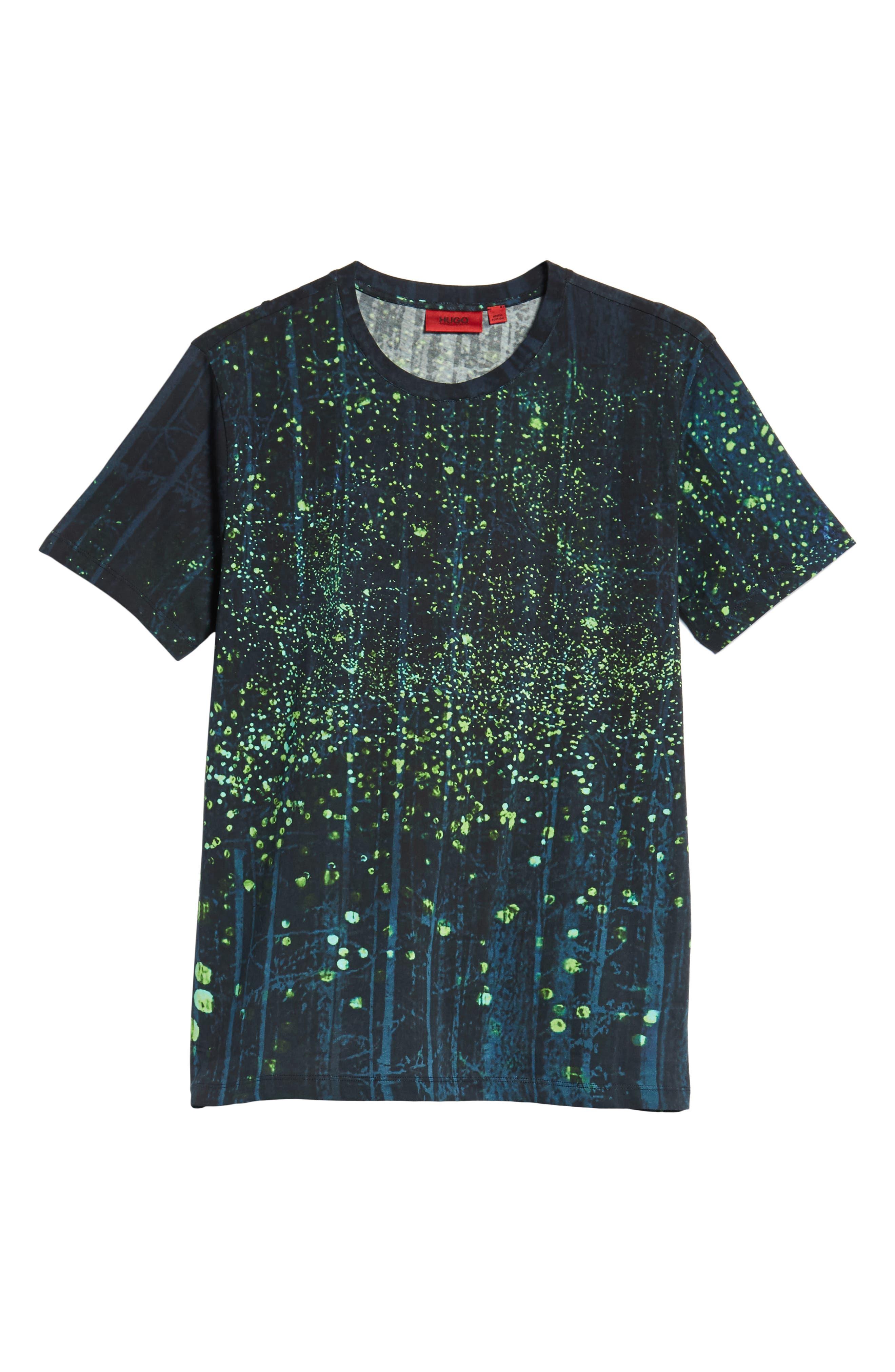 Dorest Digital Print Regular Fit T-Shirt,                             Alternate thumbnail 6, color,                             001