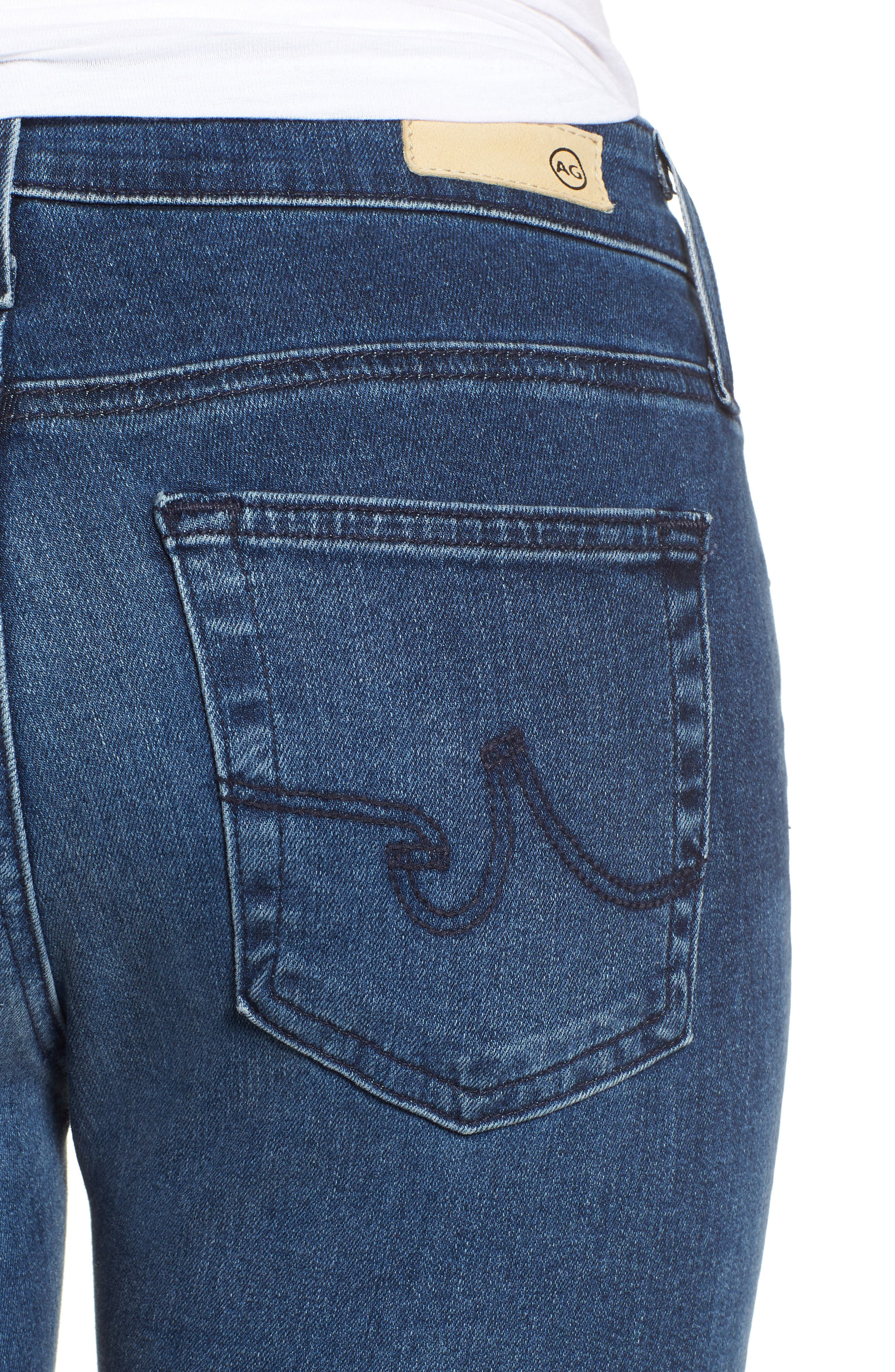 The Farrah Ankle Skinny Jeans,                             Alternate thumbnail 4, color,                             11 YEARS CONTEMPLATE