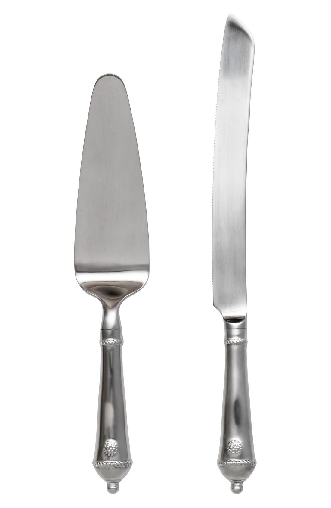 'Berry and Thread' 2-Piece Cake Serving Set,                             Main thumbnail 1, color,                             040