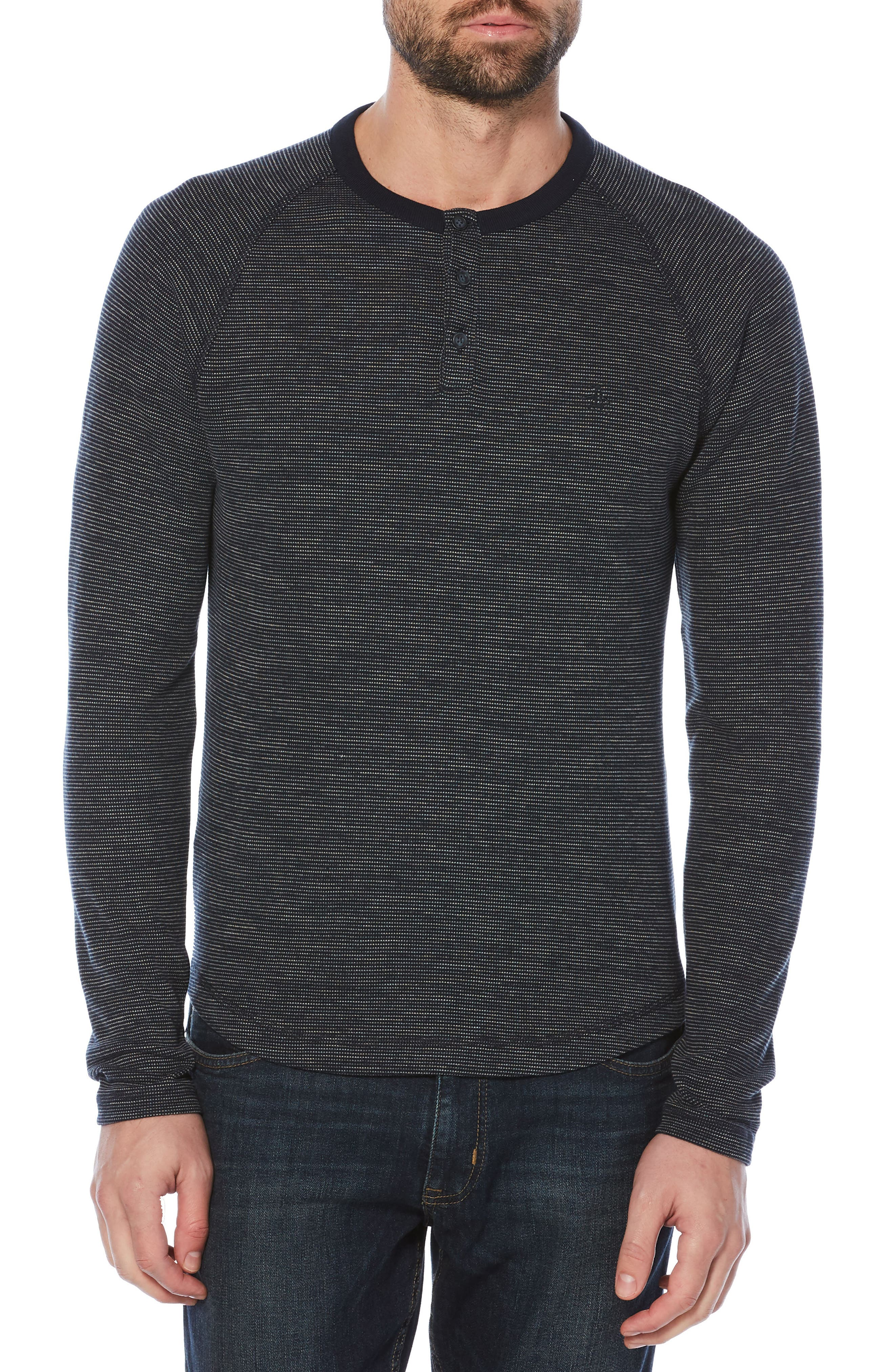 French Bib Henley,                         Main,                         color, 413