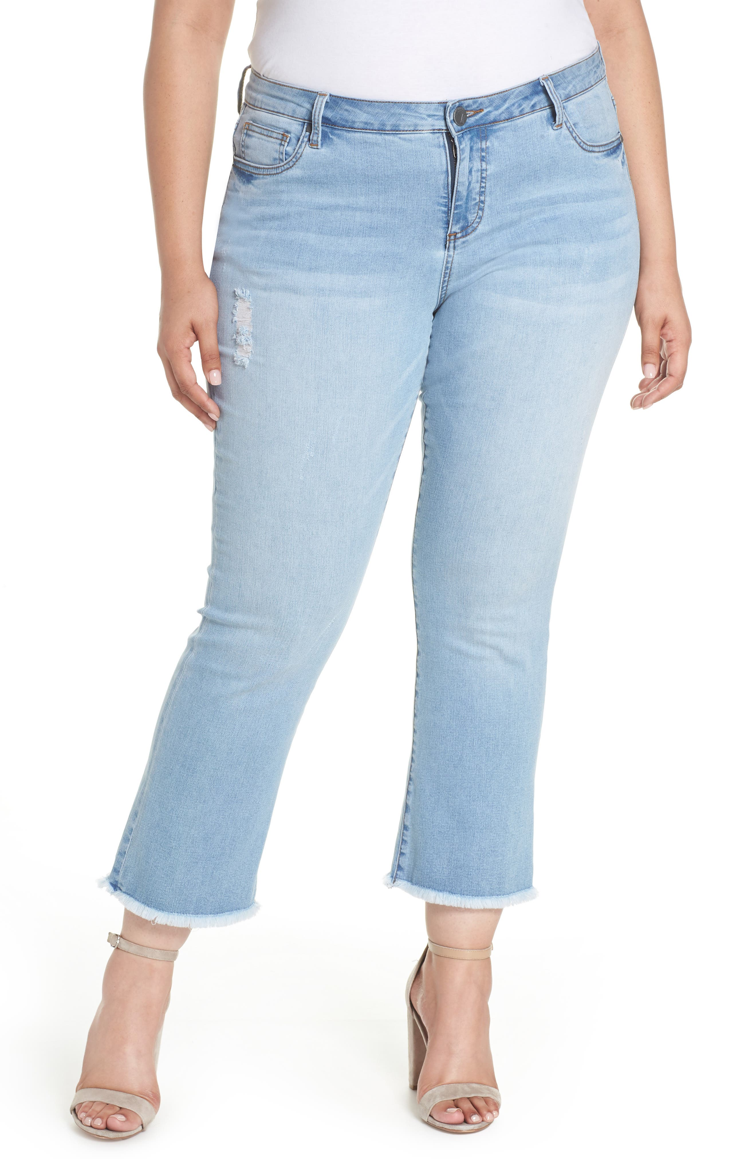 Stella Kick Flare Jeans,                             Main thumbnail 1, color,                             COMPETED