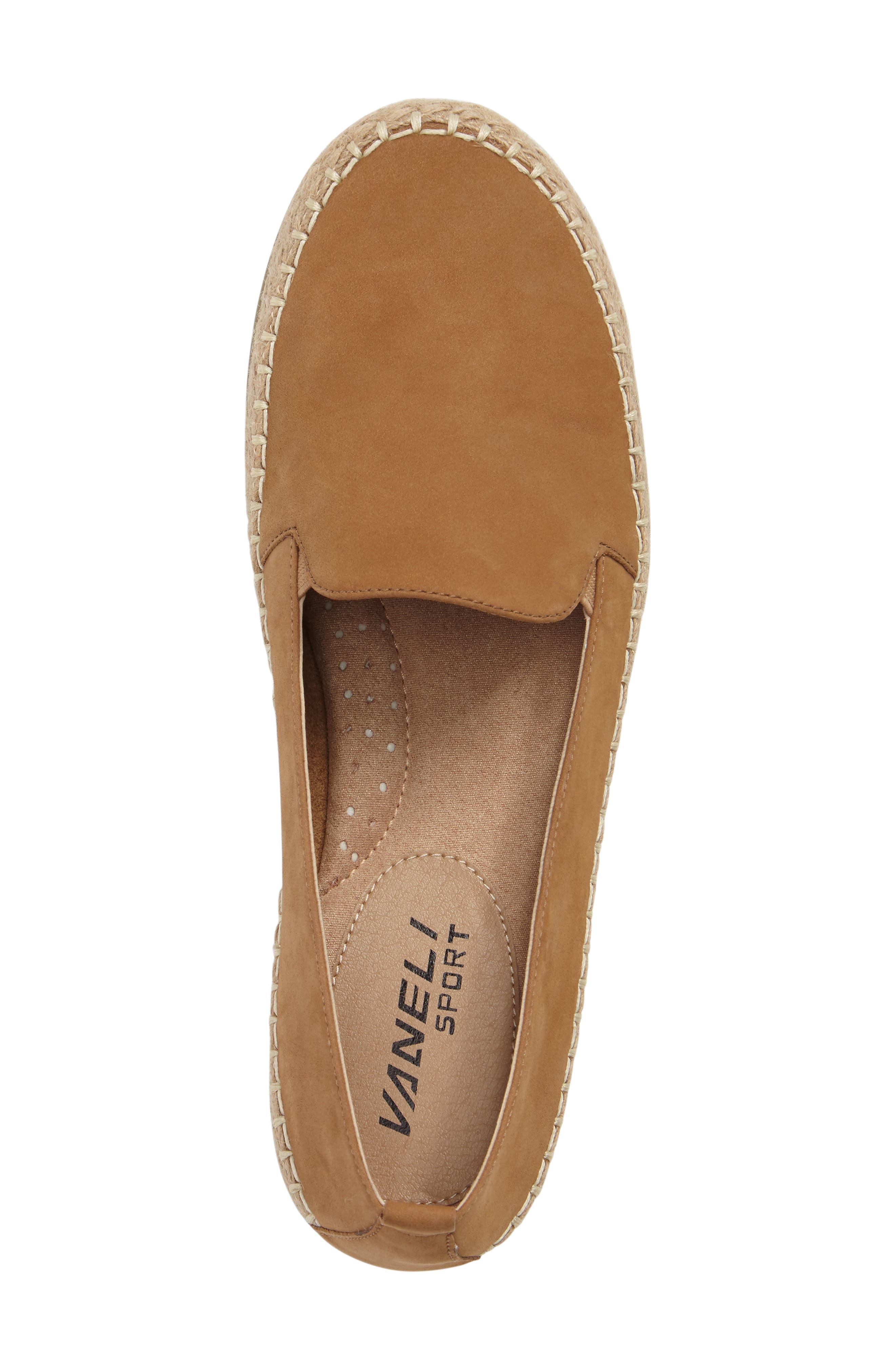 Nadette Espadrille Loafer Flat,                             Alternate thumbnail 18, color,