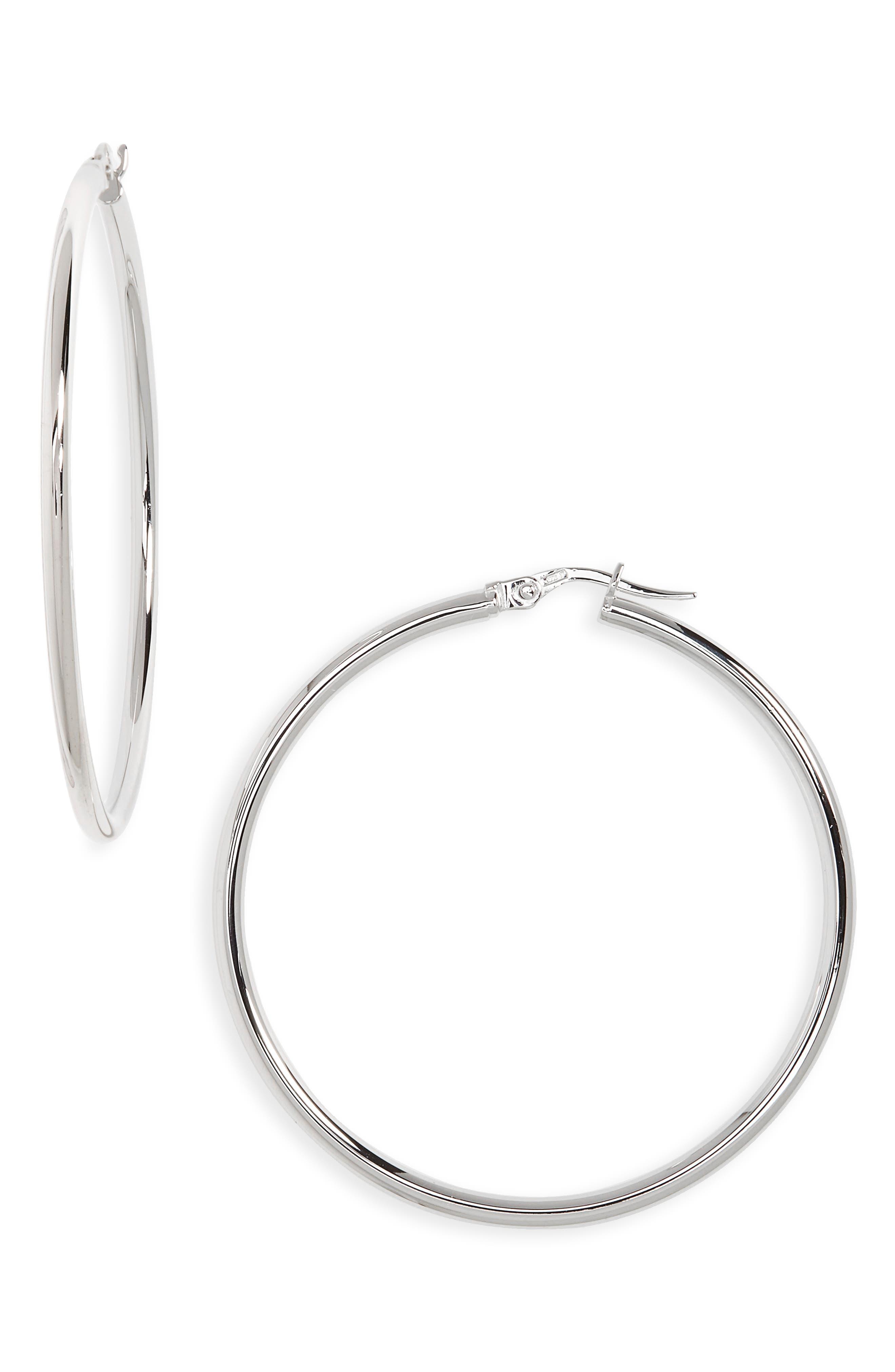 Hoop Earrings,                         Main,                         color, 101