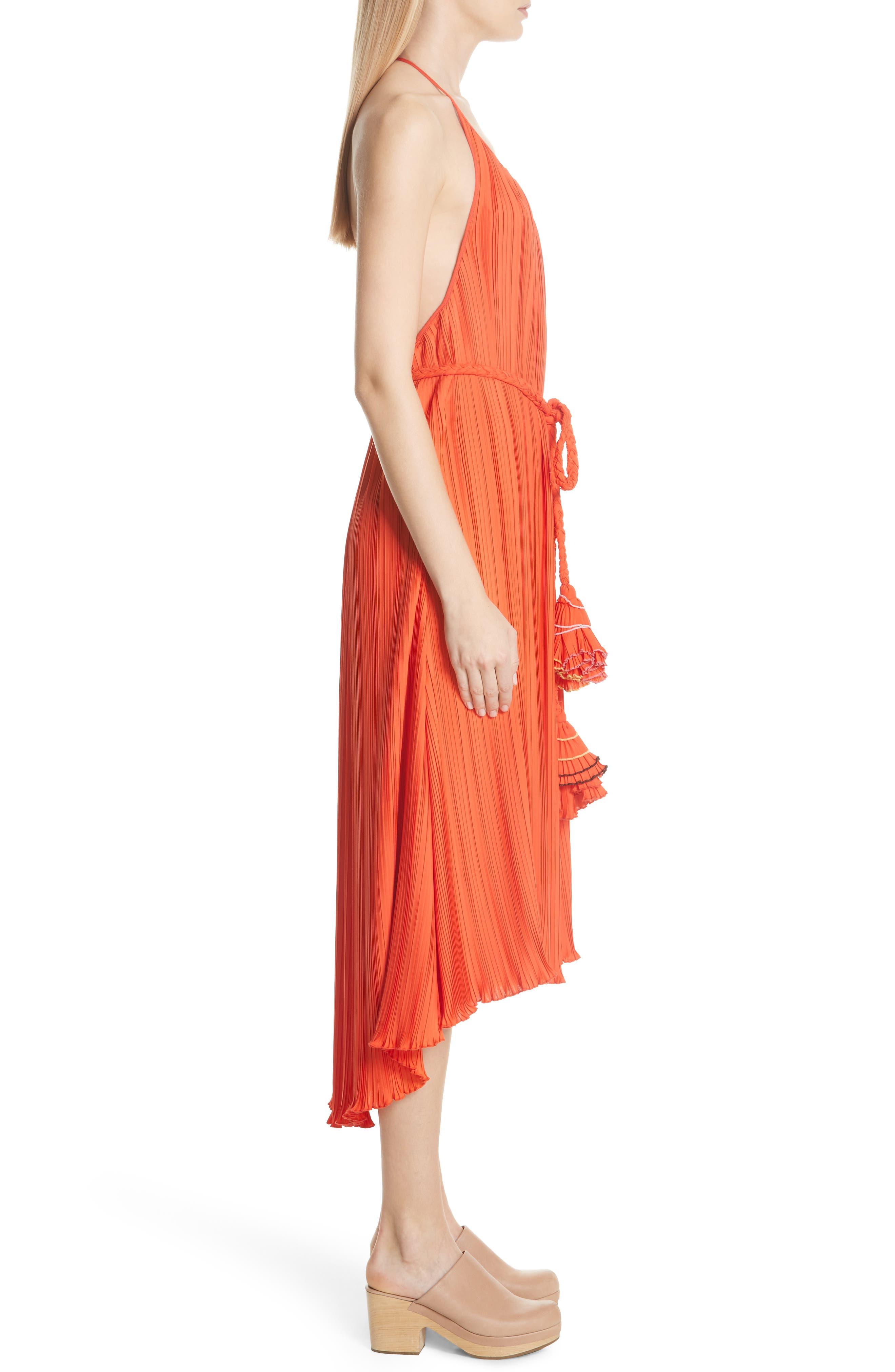 RACHEL COMEY,                             Sambuca Halter Dress,                             Alternate thumbnail 3, color,                             959