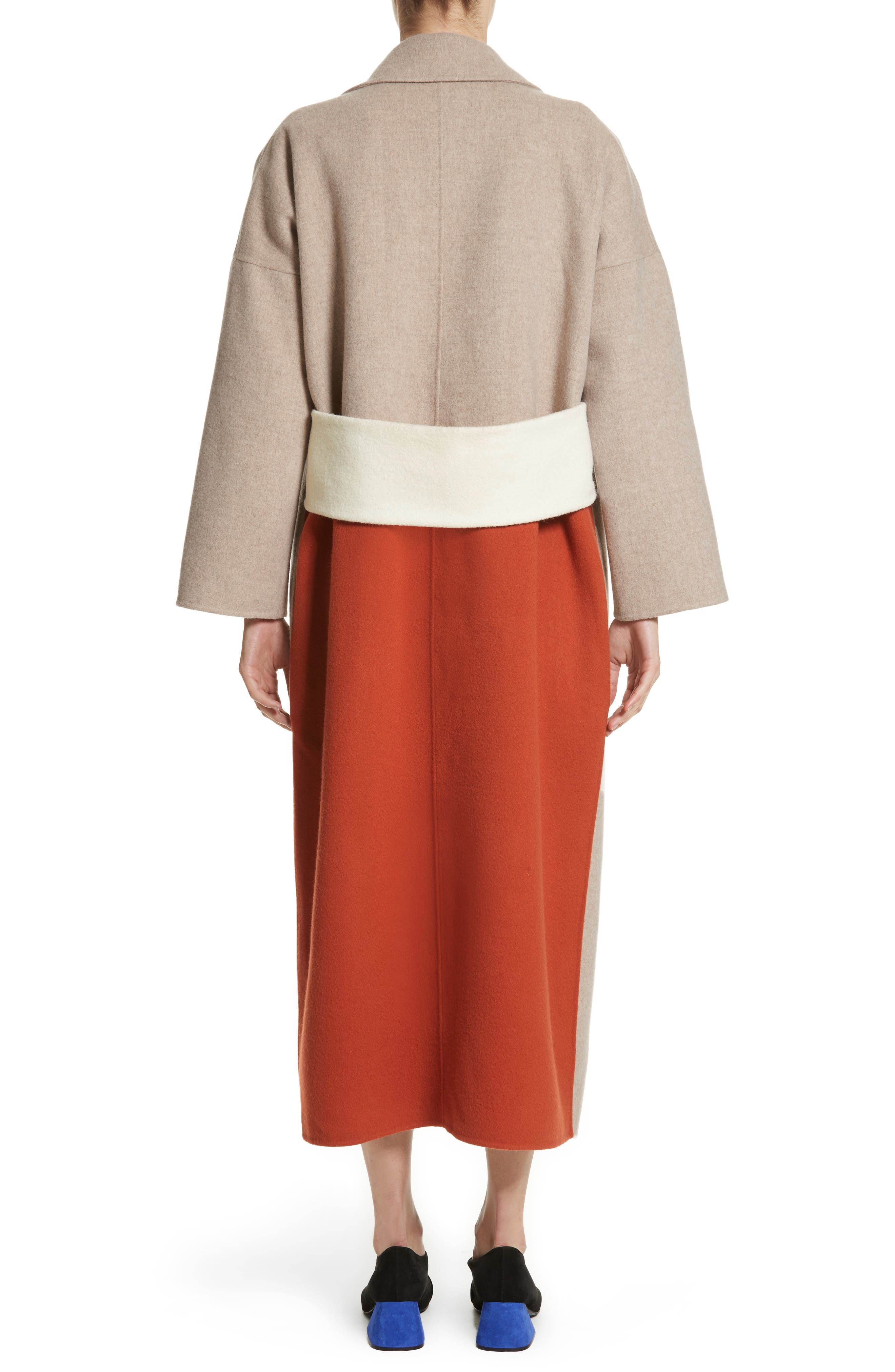 Kate Oversize Belted Coat,                             Alternate thumbnail 2, color,                             260