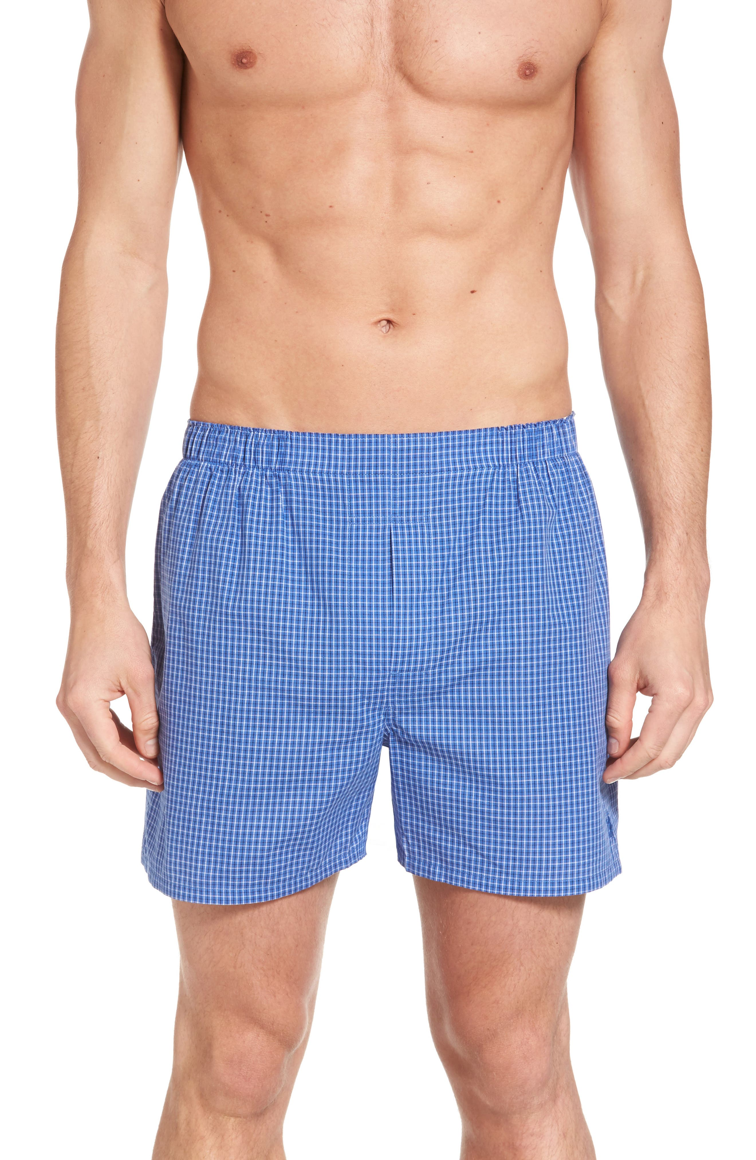 Assorted 3-Pack Woven Cotton Boxers,                             Alternate thumbnail 11, color,