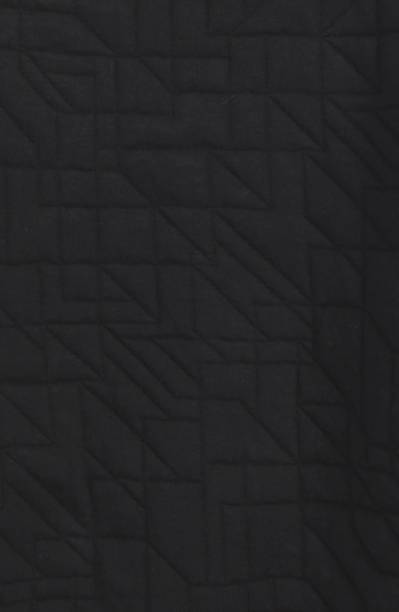 Modern Matelassé Sweatshirt,                             Alternate thumbnail 4, color,                             010