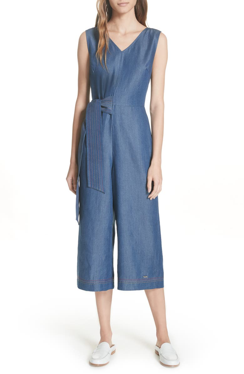 Ted Baker London Colour by Numbers Pipere Jumpsuit | Nordstrom