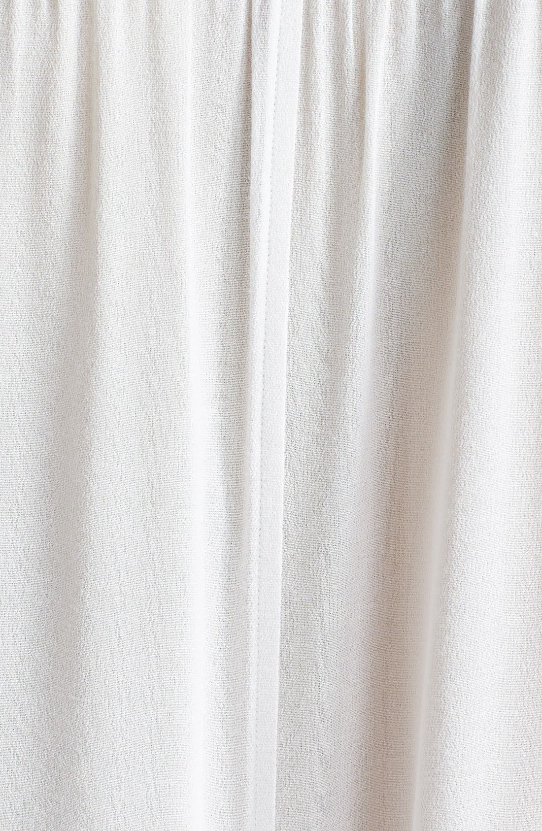 Sleeveless Shirred Crepe Top,                             Alternate thumbnail 3, color,                             166