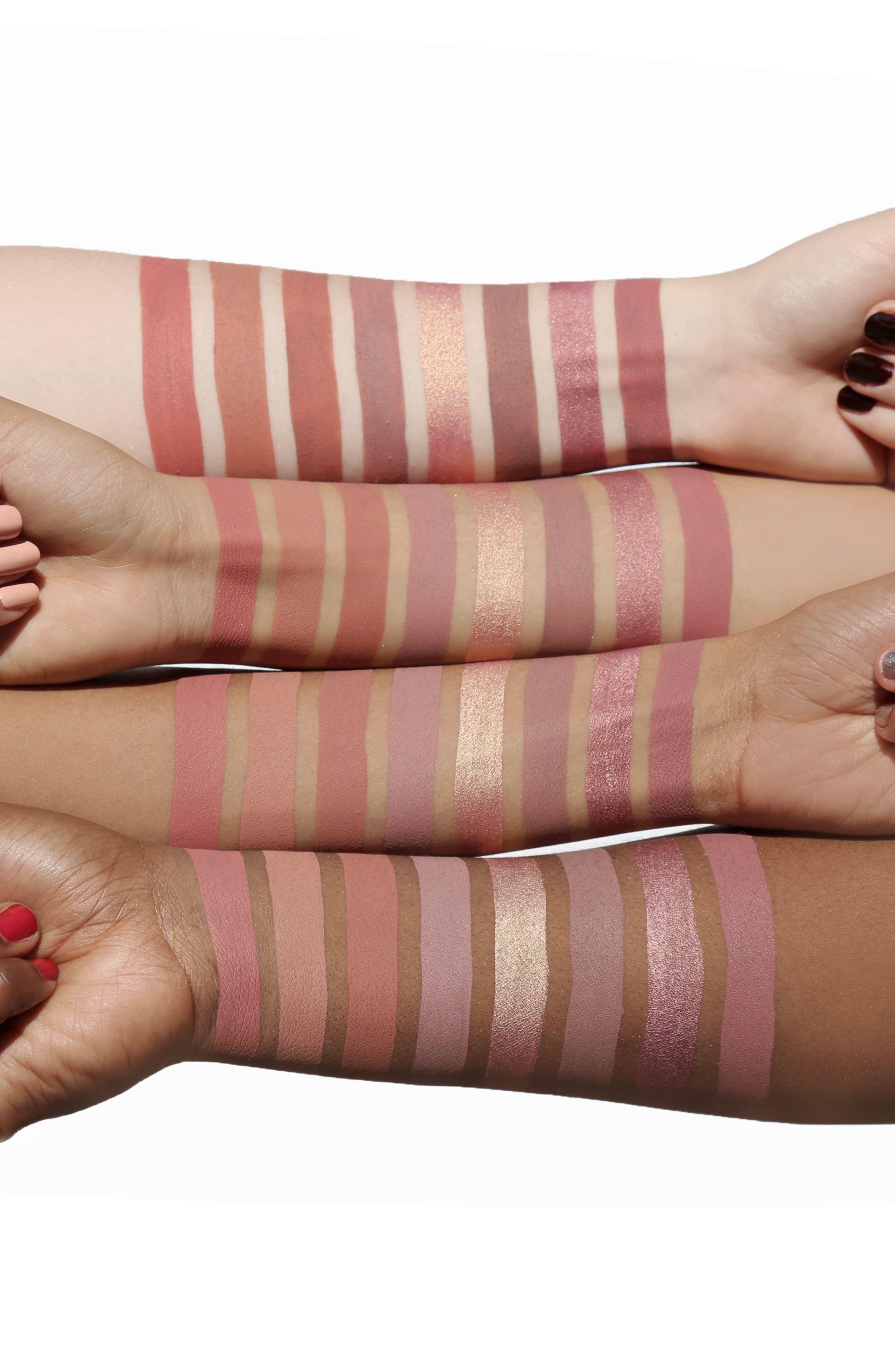 Best of Nudes Mini Long-Wear Lip Crème Liquid Lipstick Collection,                             Alternate thumbnail 6, color,                             000