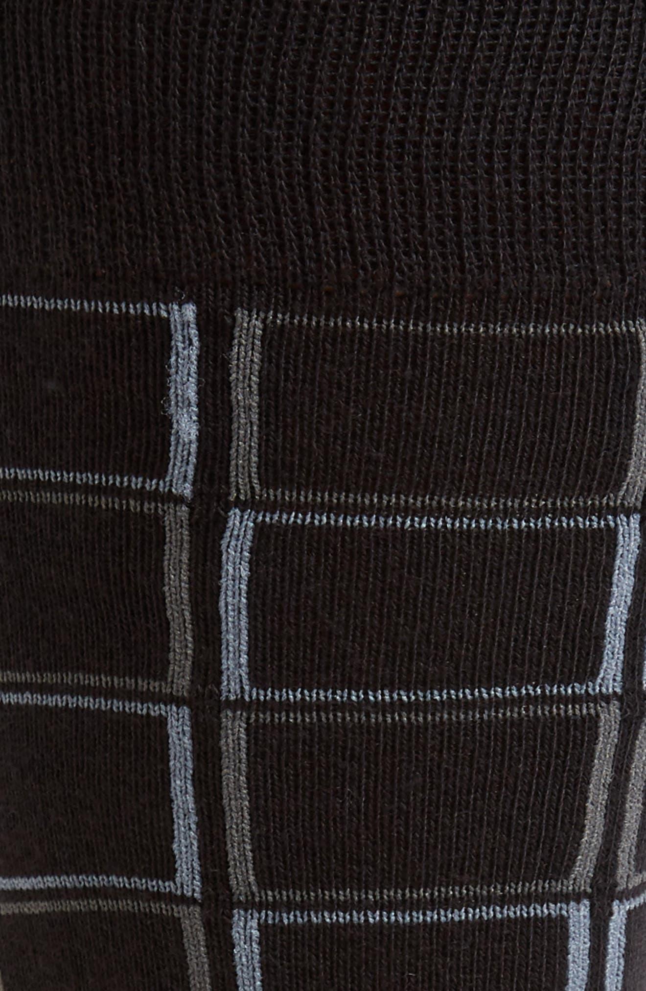 Check Socks,                             Alternate thumbnail 2, color,                             001