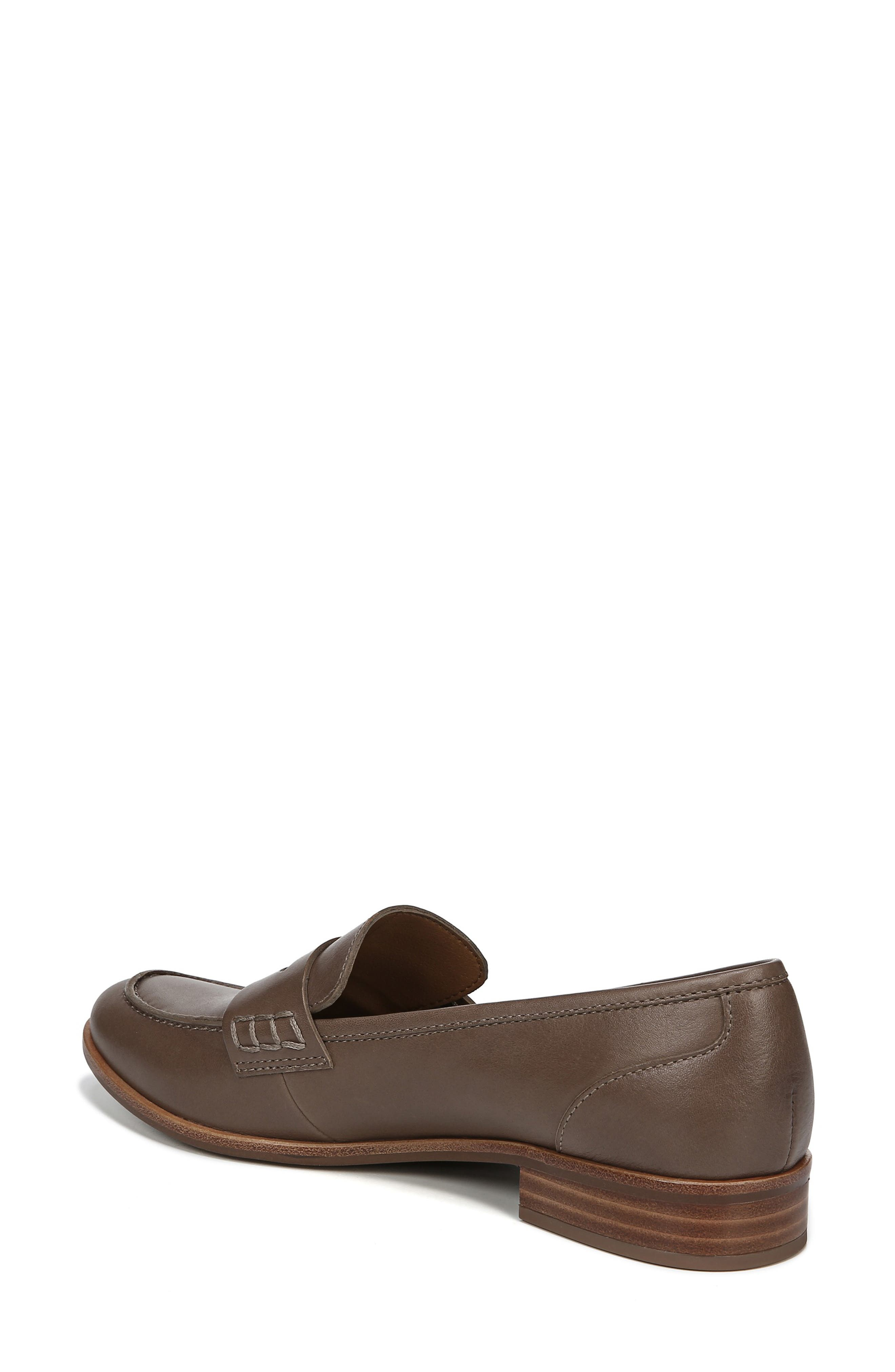SARTO BY FRANCO SARTO,                             'Jolette' Penny Loafer,                             Alternate thumbnail 2, color,                             DARK PUTTY LEATHER