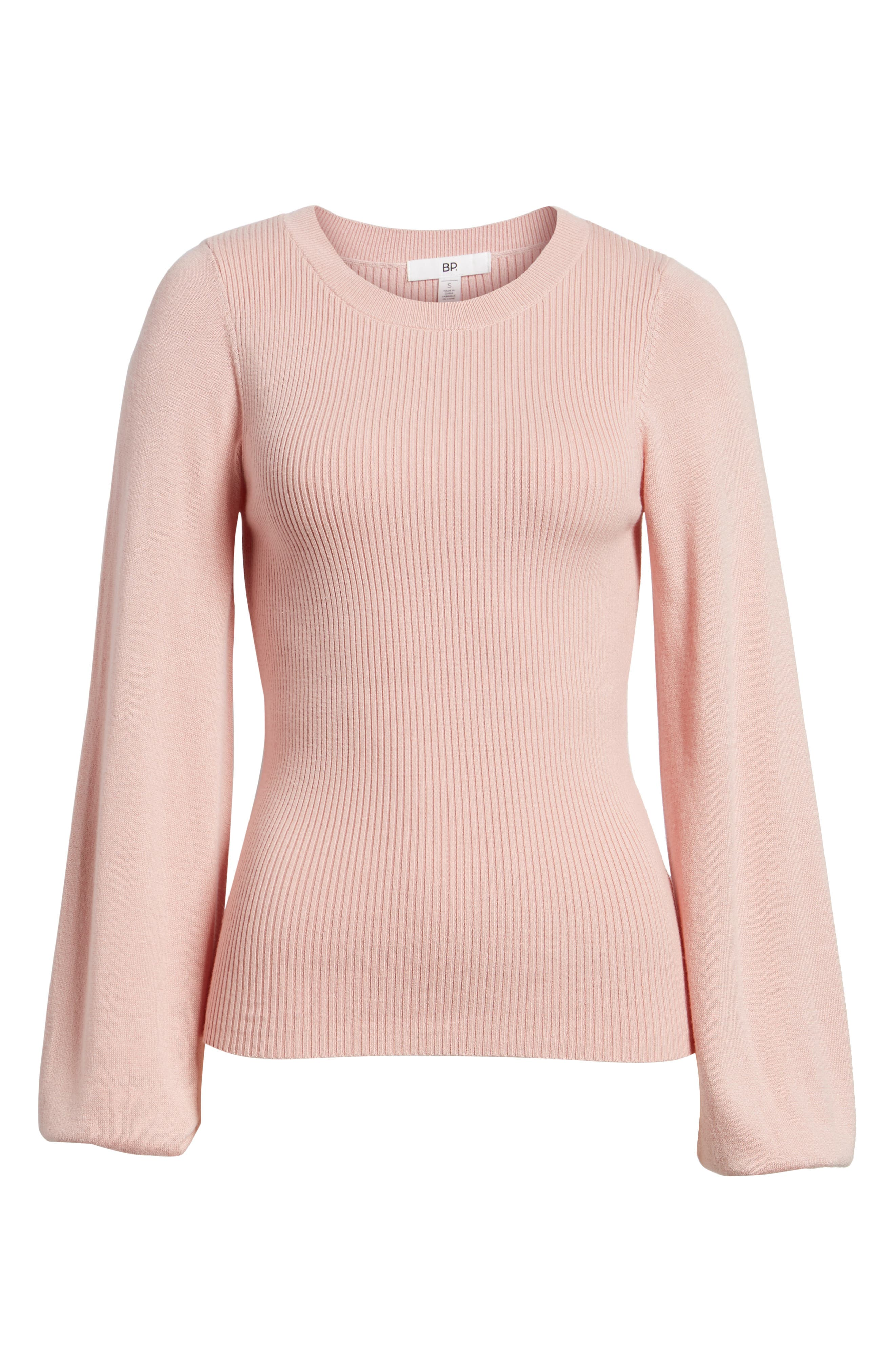 Corset Knit Sweater,                             Alternate thumbnail 6, color,                             660