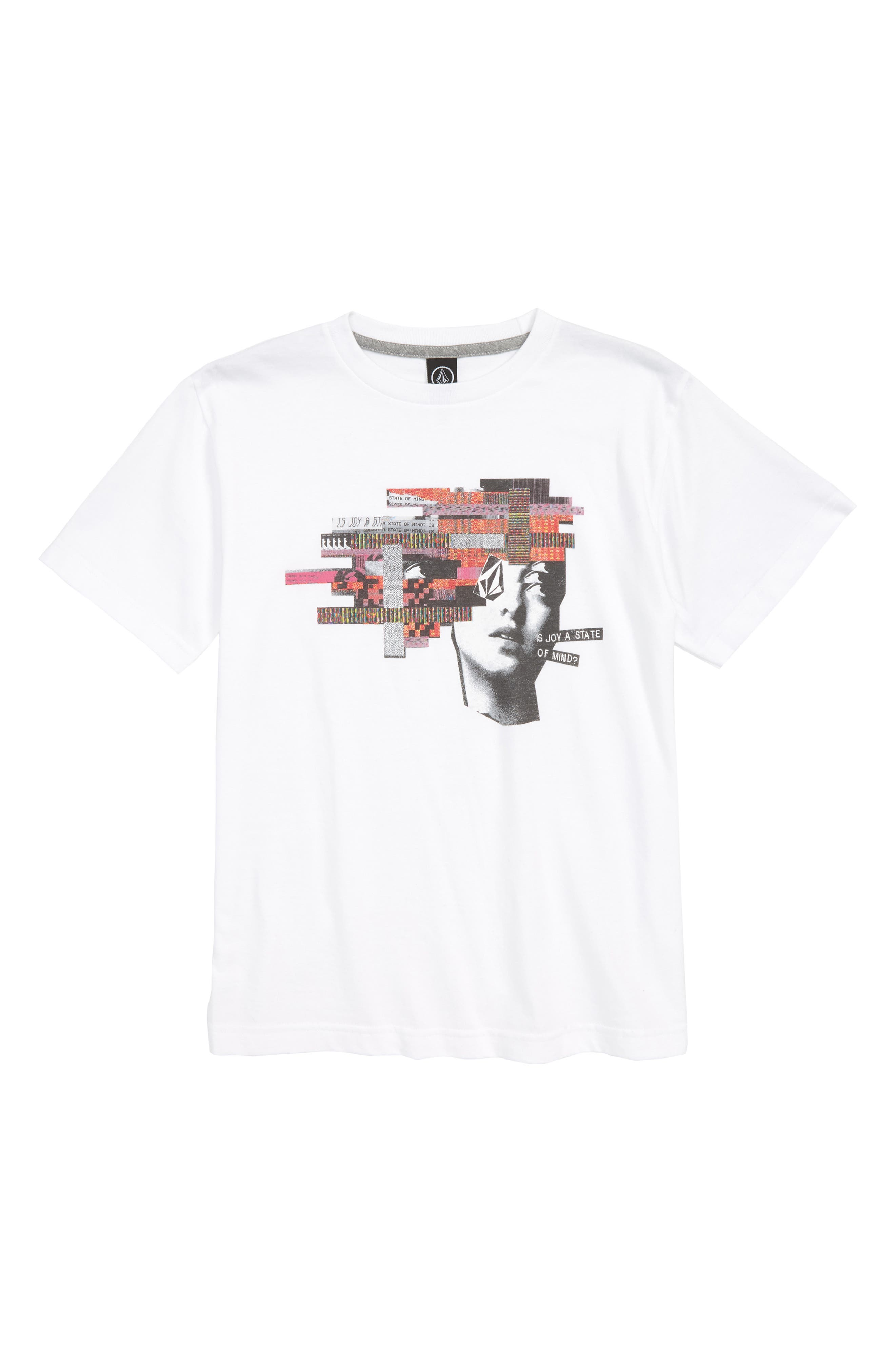 Noa Noisehead Graphic T-Shirt,                         Main,                         color, WHITE