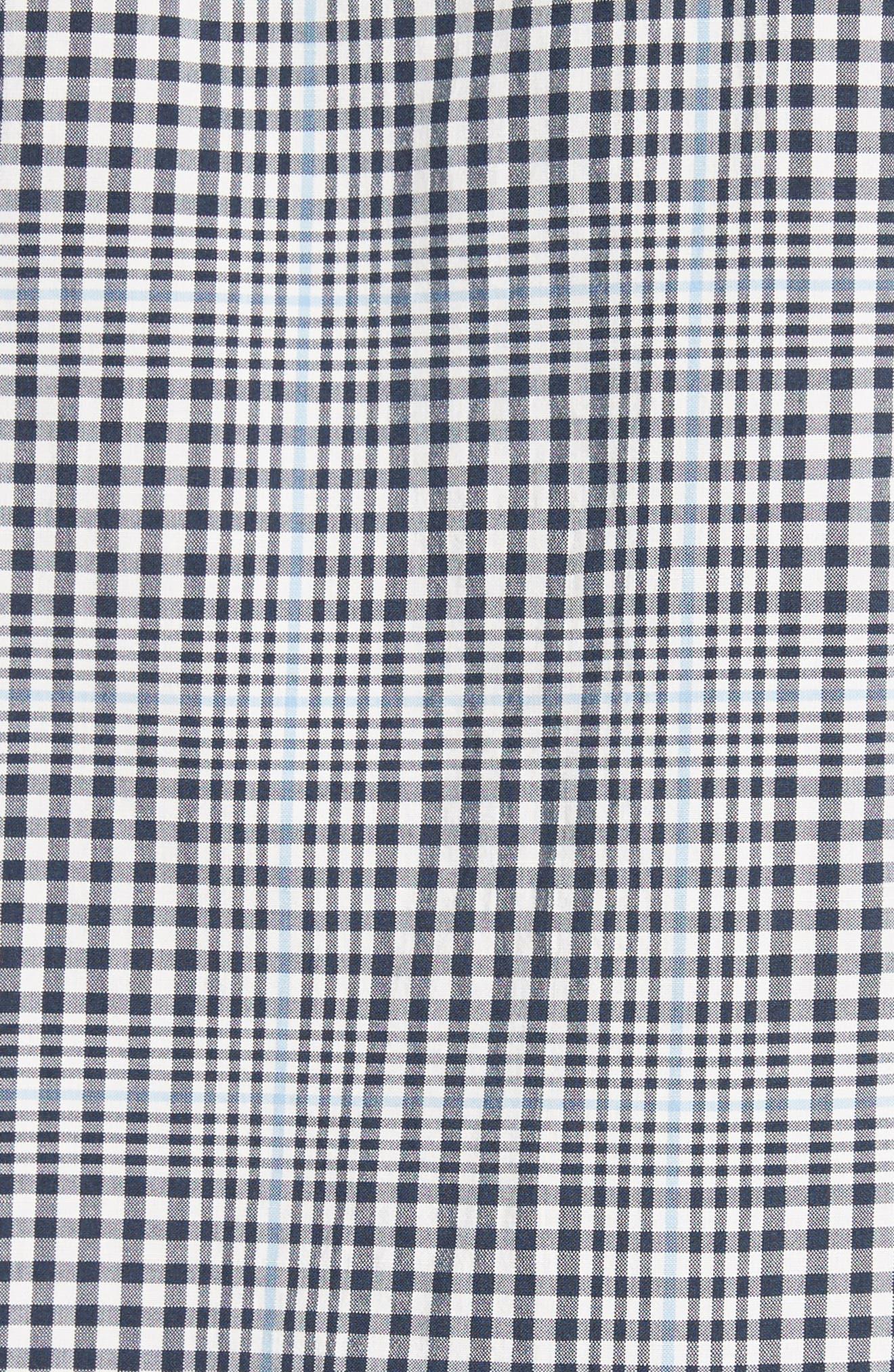 John Check Woven Shirt,                             Alternate thumbnail 5, color,                             410