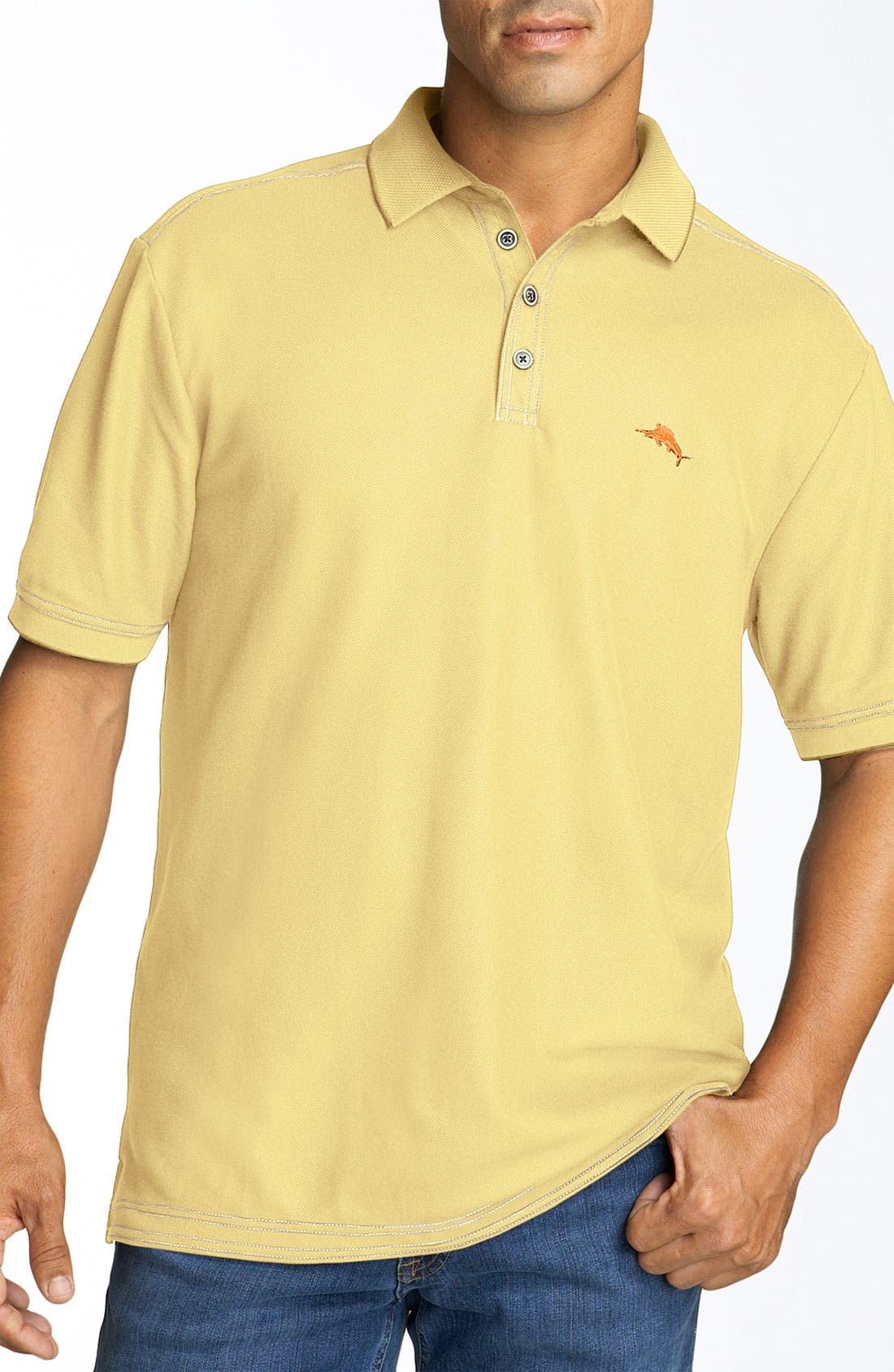 'The Emfielder' Original Fit Piqué Polo,                             Main thumbnail 26, color,