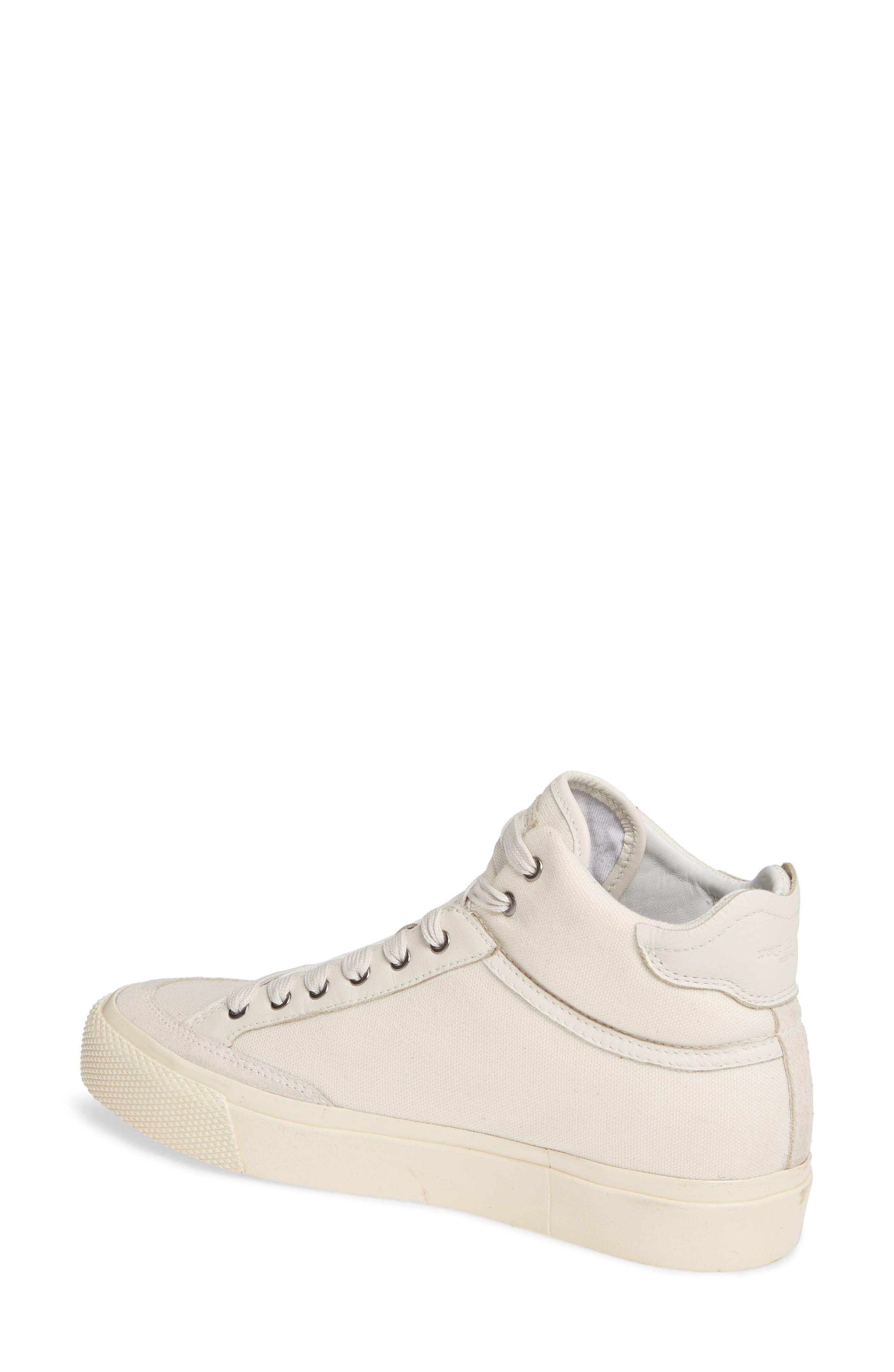 Army High Top Sneaker,                             Alternate thumbnail 2, color,                             ECRU CANVAS