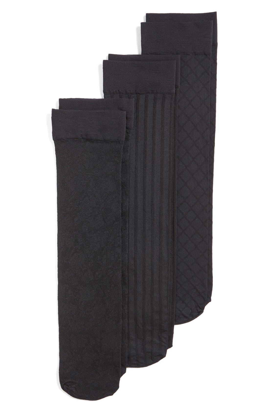 Pattern Trouser Socks,                             Main thumbnail 3, color,