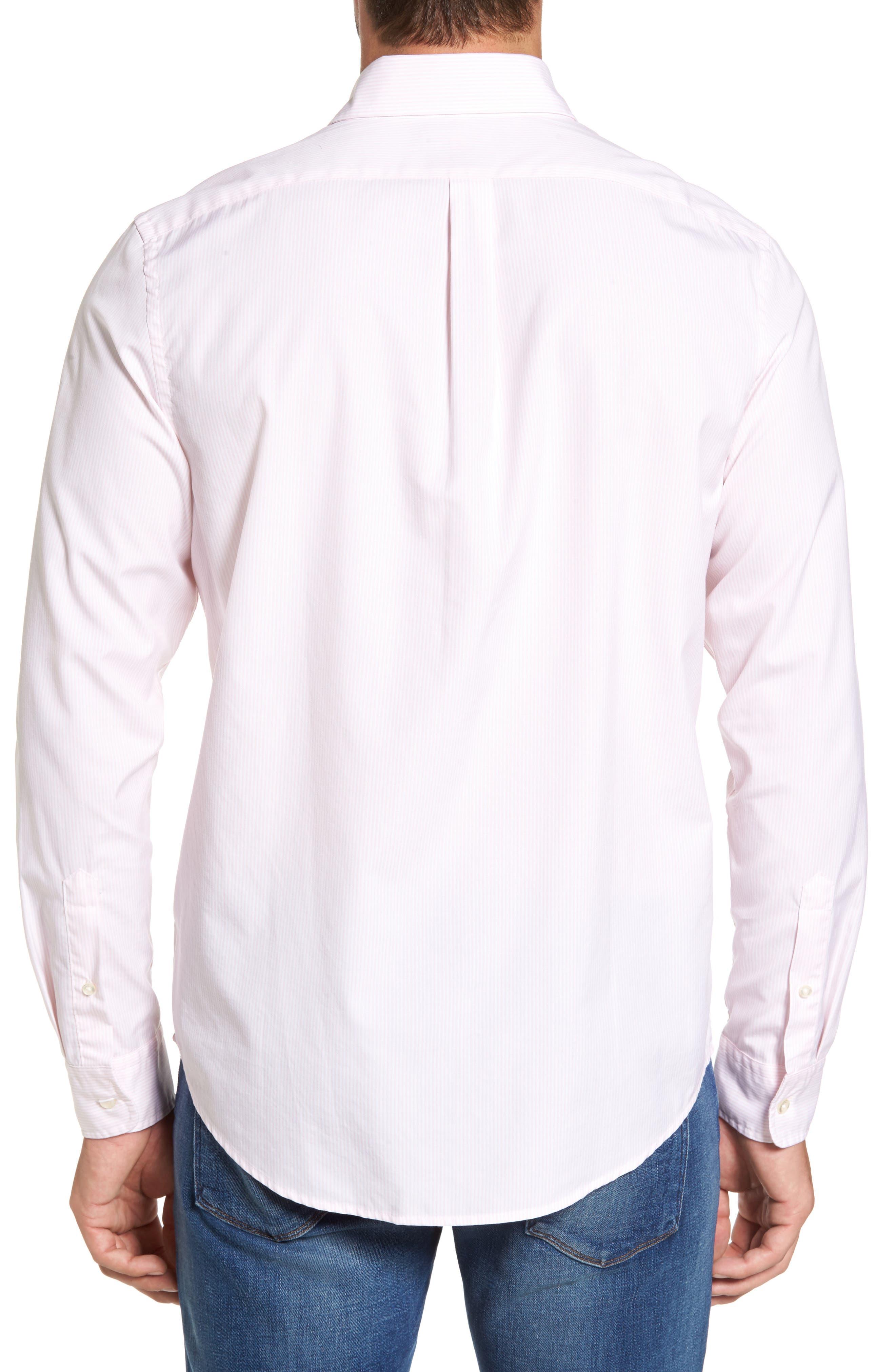 Seabird Stripe Tucker Slim Fit Sport Shirt,                             Alternate thumbnail 2, color,                             686