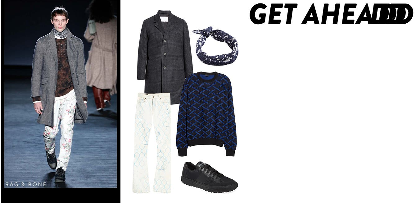 Mix and match with rag & bone at men's Fashion Week.