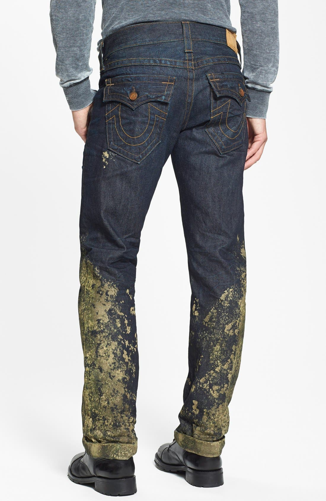 'Ricky' Relaxed Straight Leg Jeans, Main, color, 400