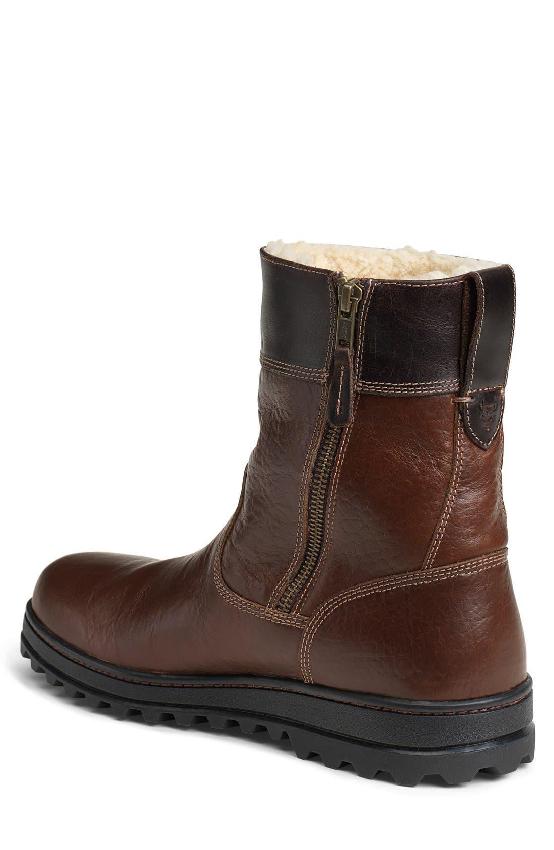 'Winslow' Plain Toe Boot,                             Alternate thumbnail 2, color,