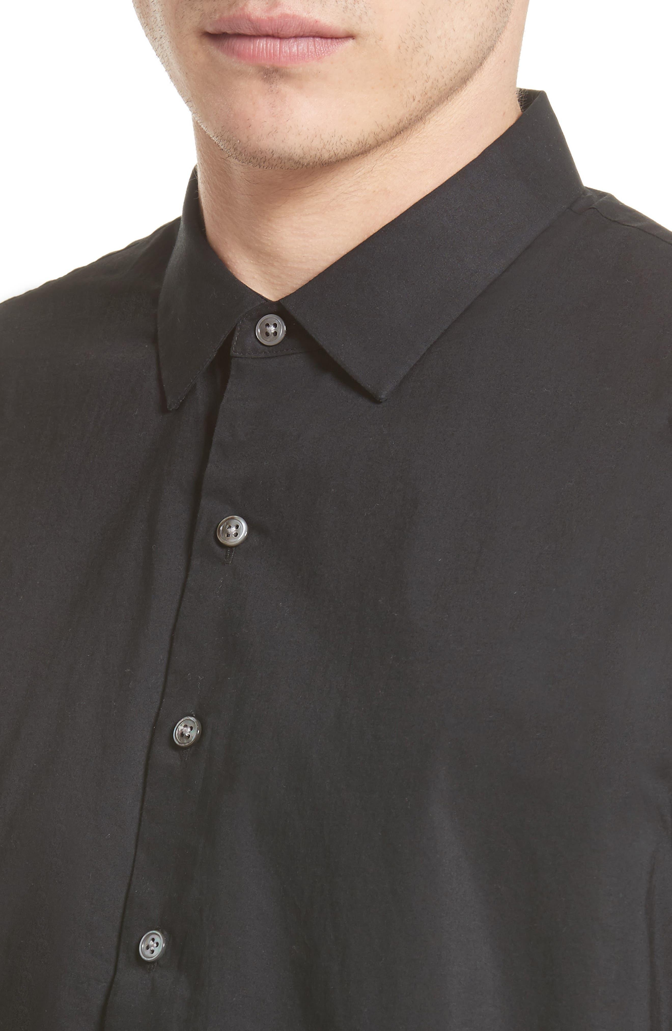 Cotton Dress Shirt,                             Alternate thumbnail 7, color,